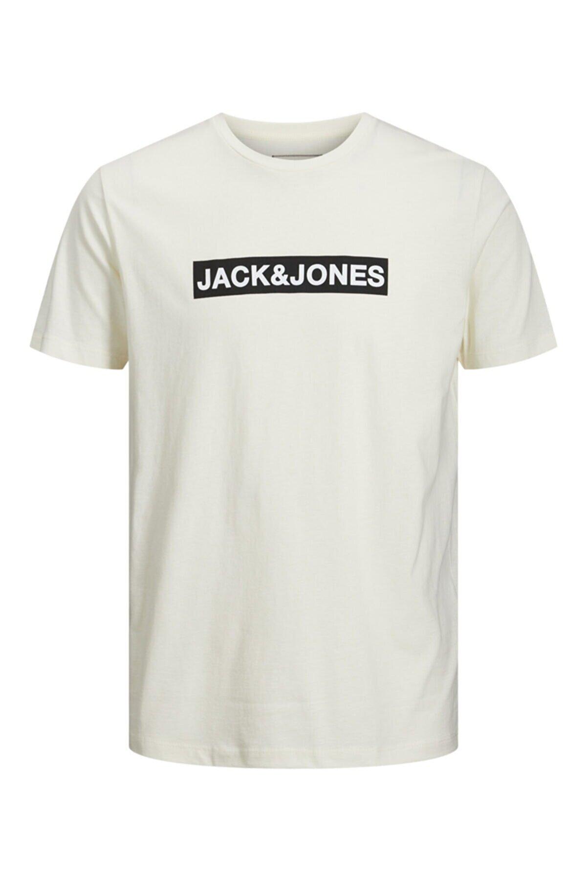 Jack & Jones Erkek Bisiklet Yaka T-shirt