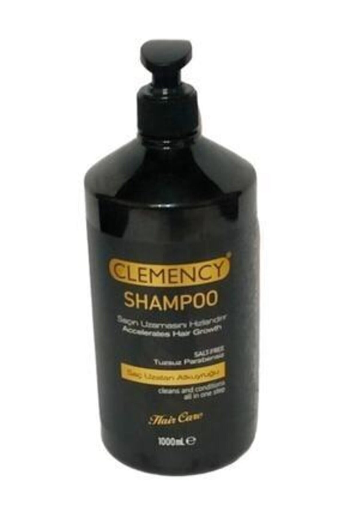 Clemency Saç Uzatan Atkuyruğu Tuzsuz Parabensiz Şampuan 1000 ml