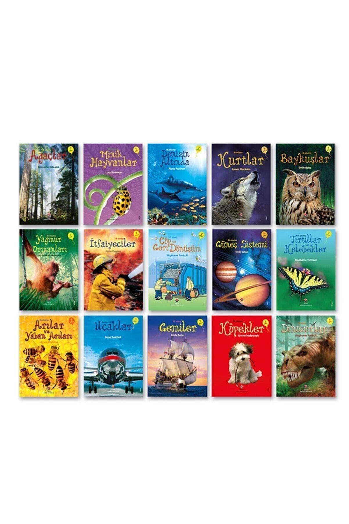 Tübitak Yayınları Tübitak Popüler Bilim Ilk Okuma Kitapları 15 Li Set (1. Sınıf Ve Okul Öncesi) Set 1