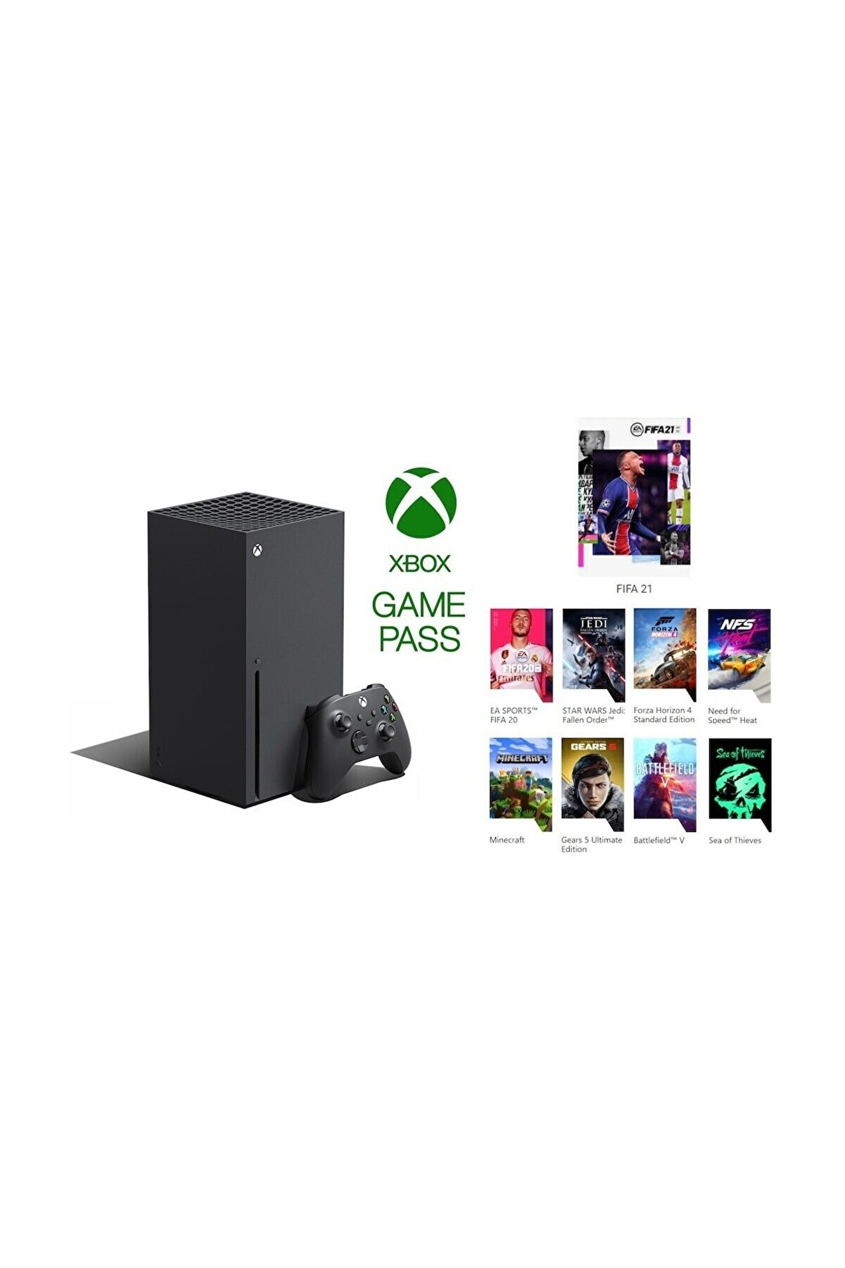 Microsoft Xbox Series X 1TB SSD Oyun Konsolu + 3 Ay Gamepass Ultimate Hediye