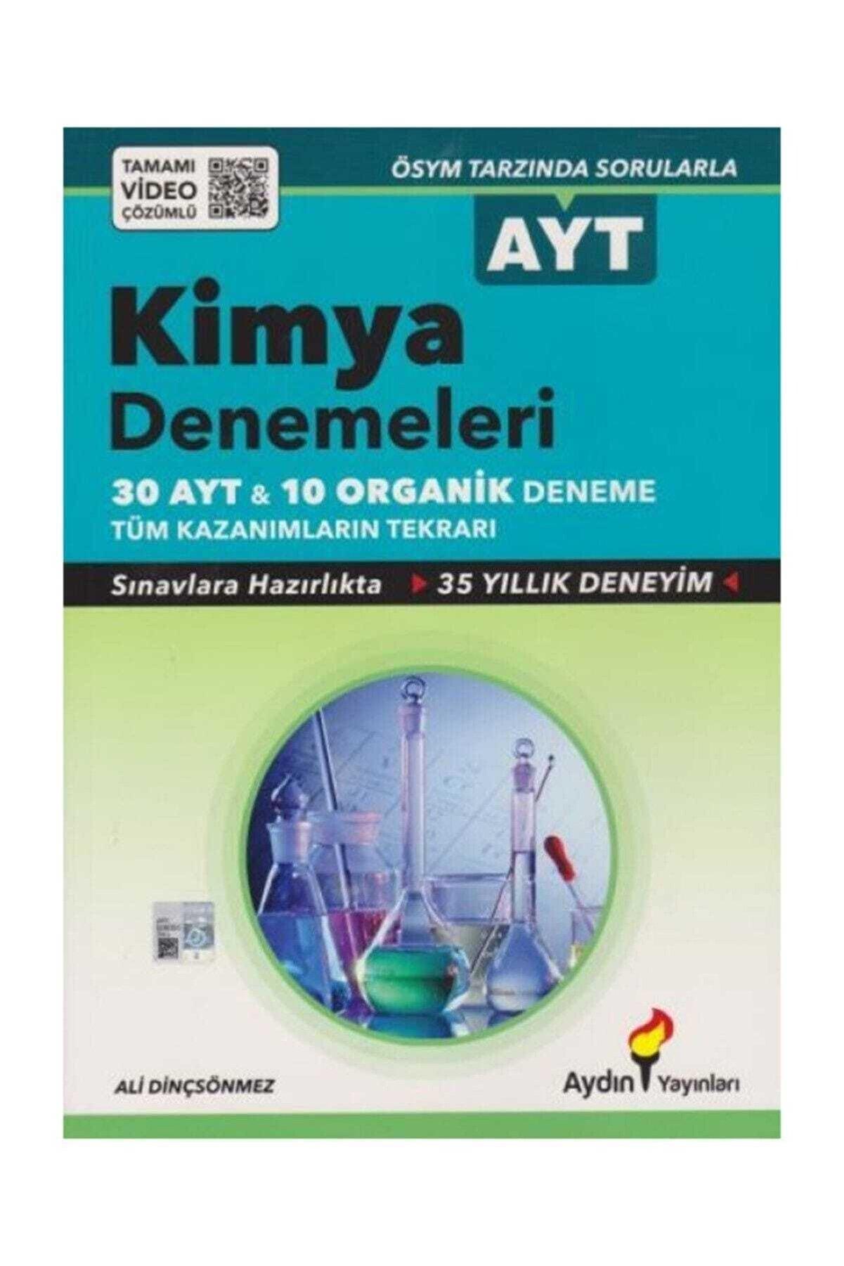 Aydın Yayınları Ayt Kimya 30x13 Ve Organik Denemeler 10x13 Tamamı Video Çözümlü A