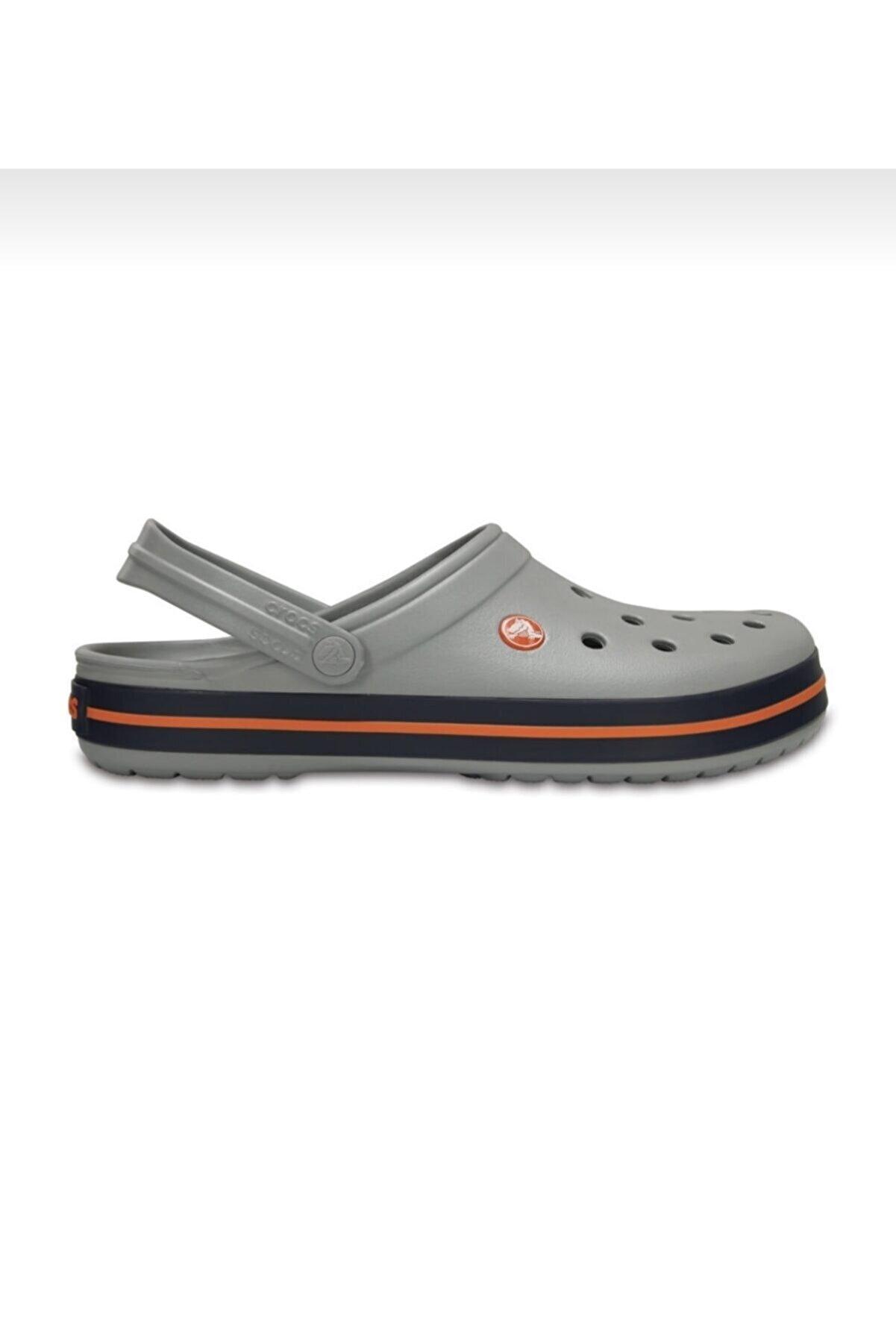 Crocs Gri Laci Crocband Terlik 11016
