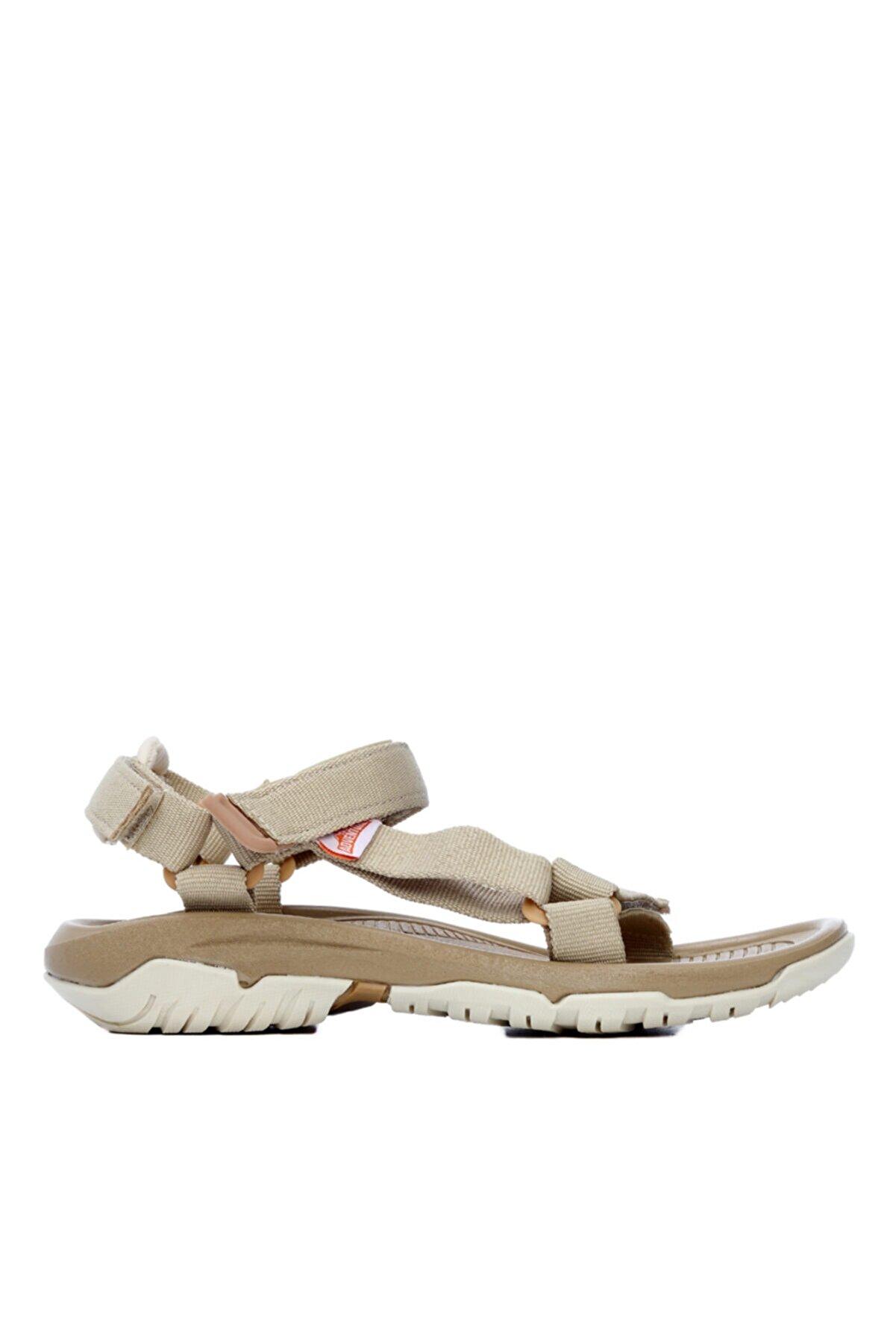 Kemal Tanca Kadın Bej Tekstil Sandalet
