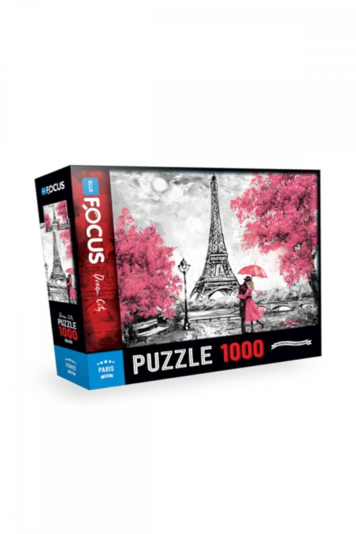 Blue Focus 1000 Parça Puzzle - Parıs