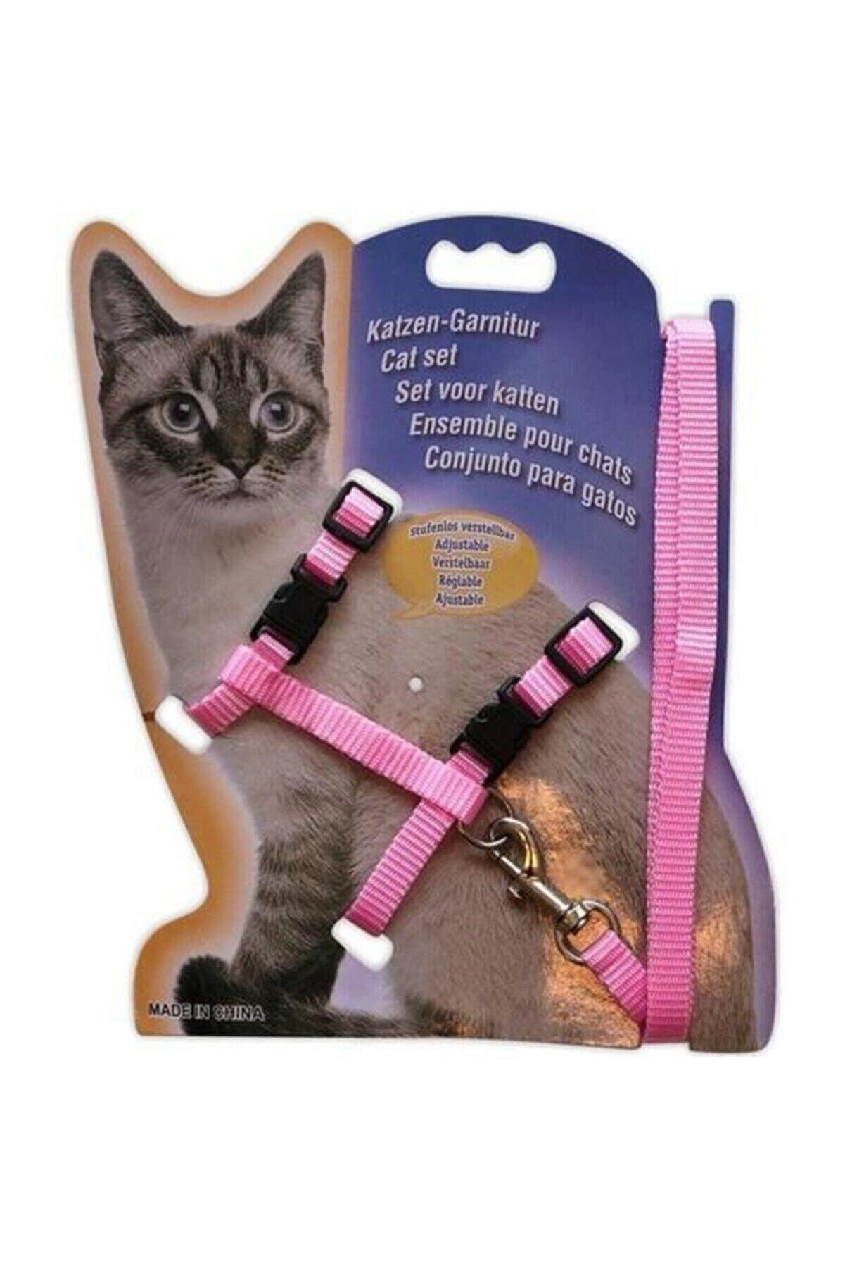 TechnoSmart Kedi Göğüs Tasması Ve Gezdirme Seti