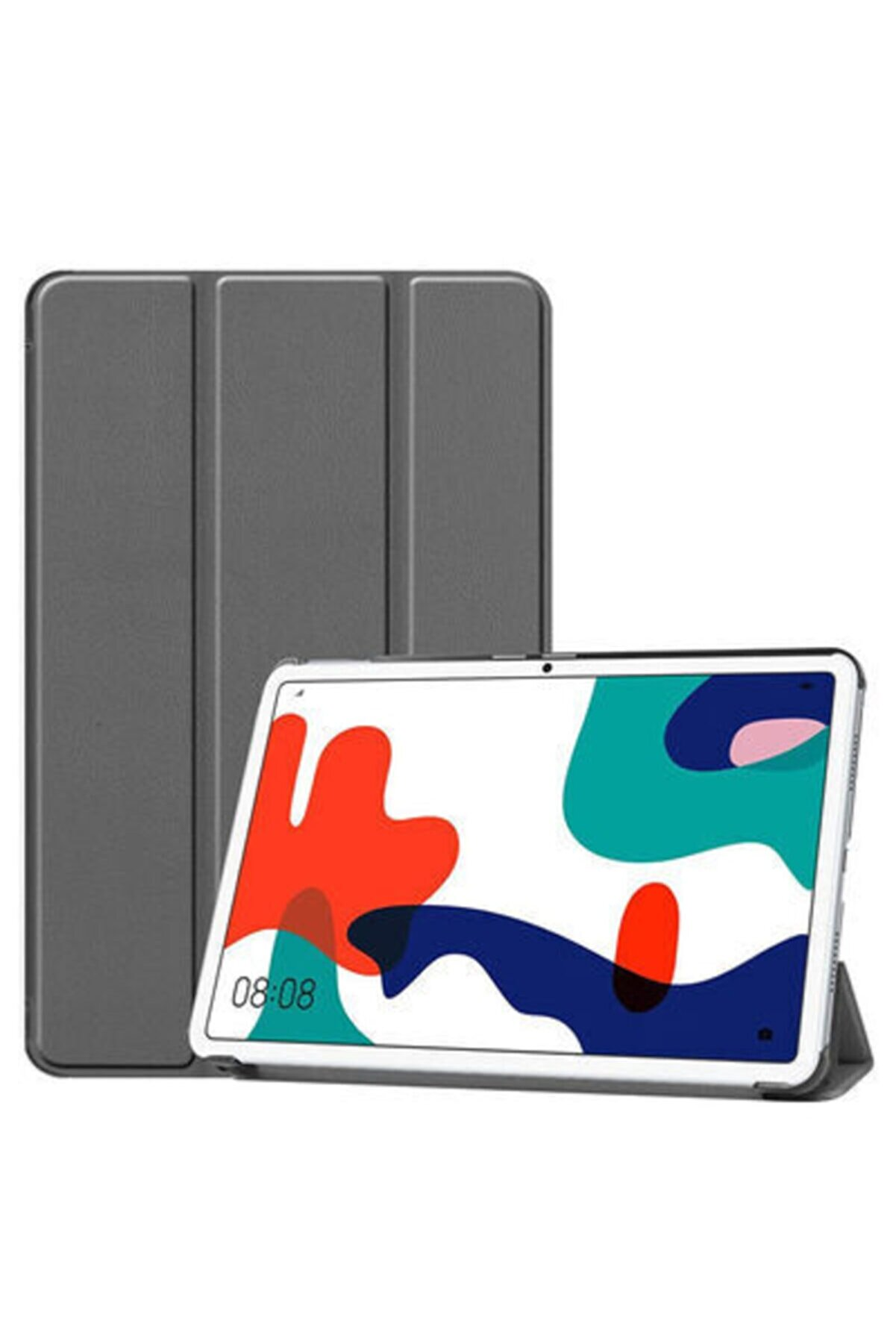 Zore Huawei Mate Pad 10.4 Smart Cover Standlı 1-1 Kılıf