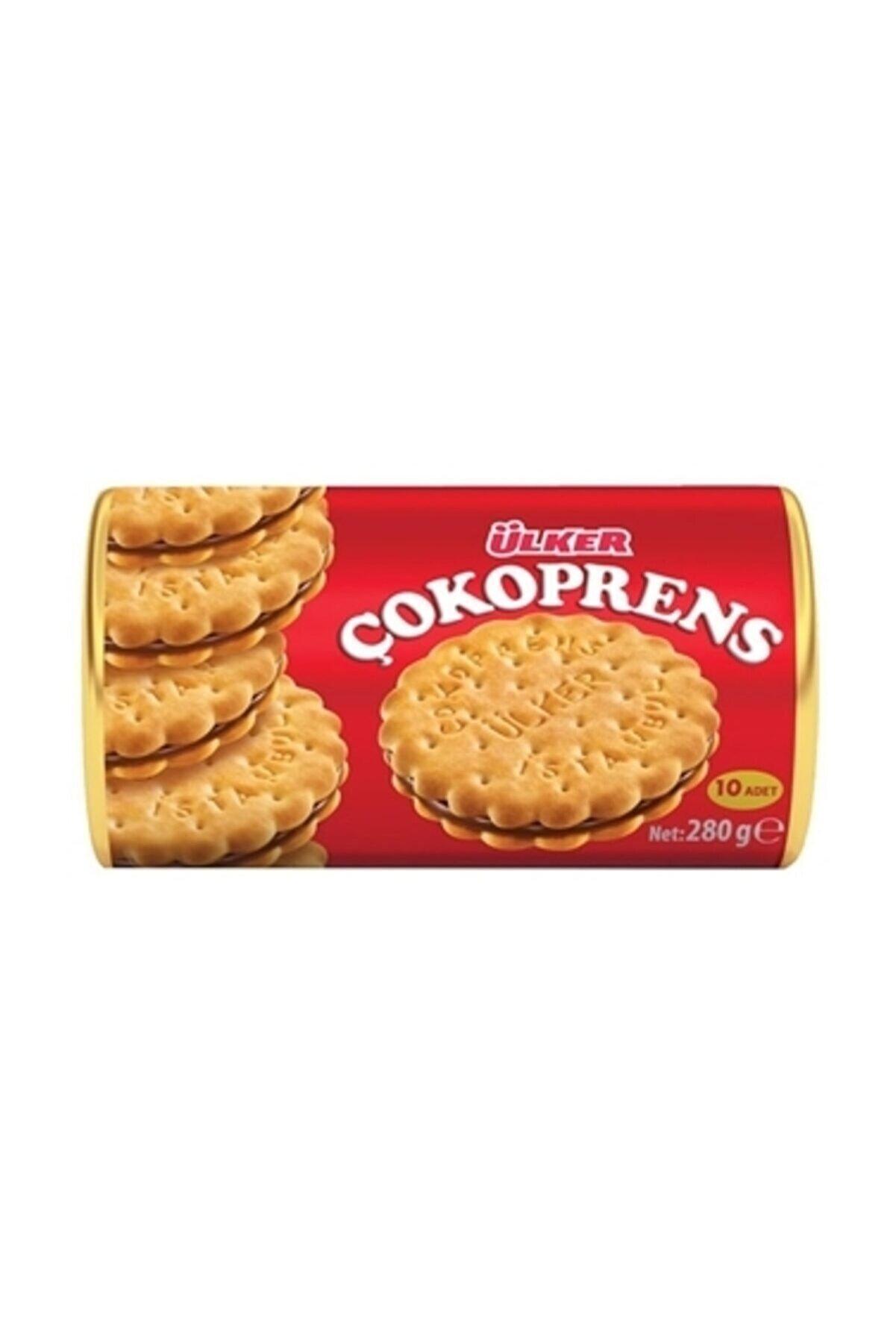 Ülker Çokoprens Bisküvi 10x30 gr