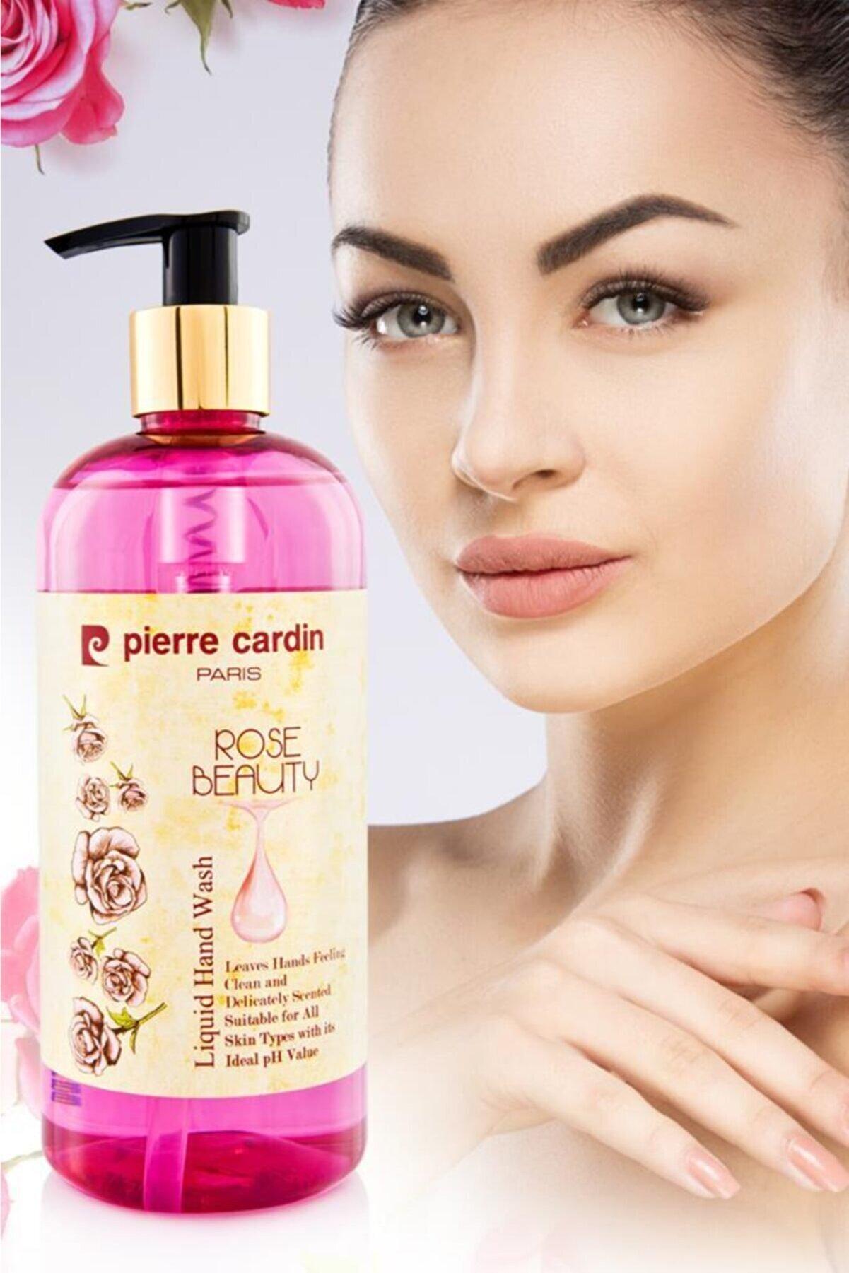 Pierre Cardin Gül Özlü E Vitaminli Nemlendirici Sıvı El Sabunu - 400 Ml