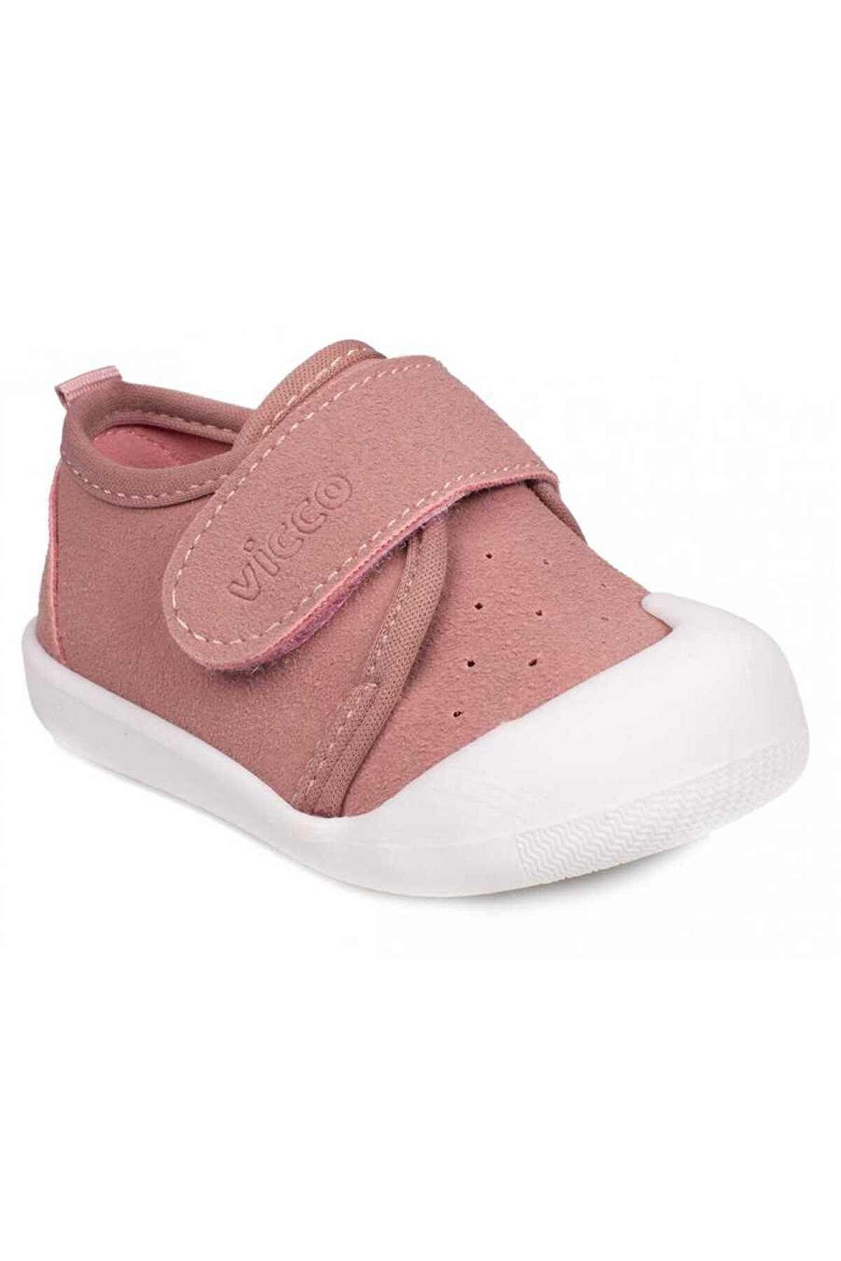 Vicco Unisex Bebek Pembe İlk Adım Ayakkabı
