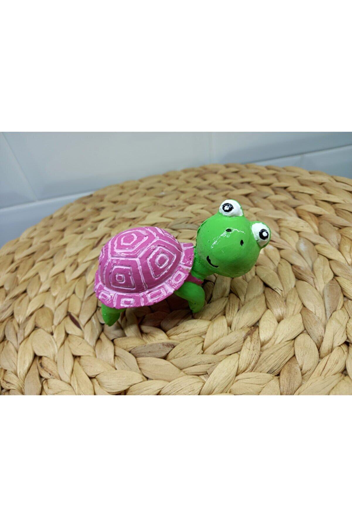 KAKTUSLUBAYAN Kaplumbağa Saksı Süsü