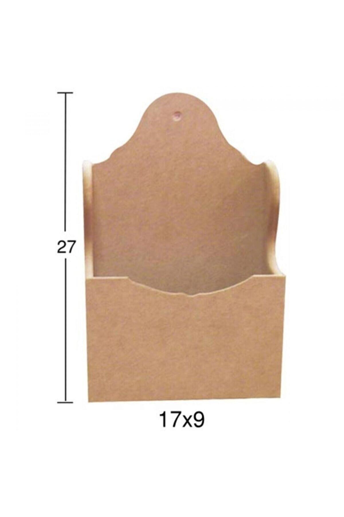 TEKNOPARS F761 Kaşıklık, Boyasız Ham Ahşap Mdf Kaşıklık