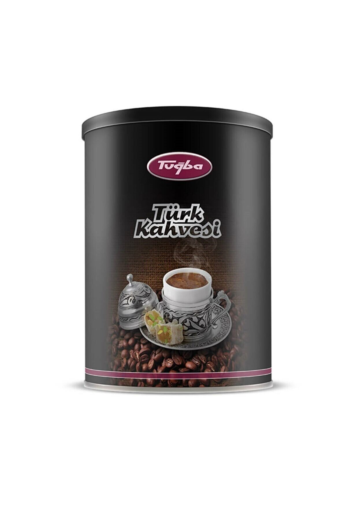 Tuğba Kuruyemiş Türk Kahvesi Metal Kutu 250 Gr