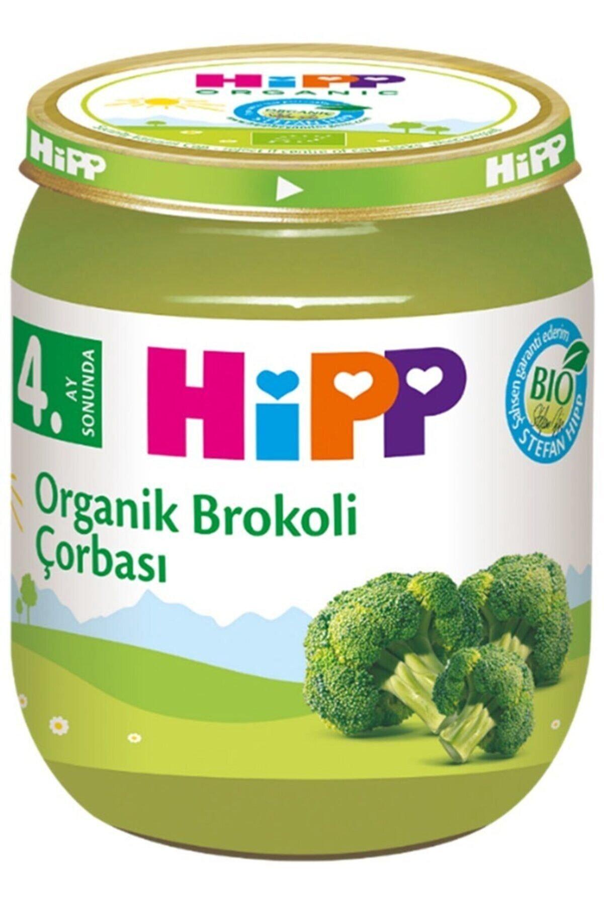 Hipp Organik Brokoli Çorbası 125gr 4. Ay Sonunda