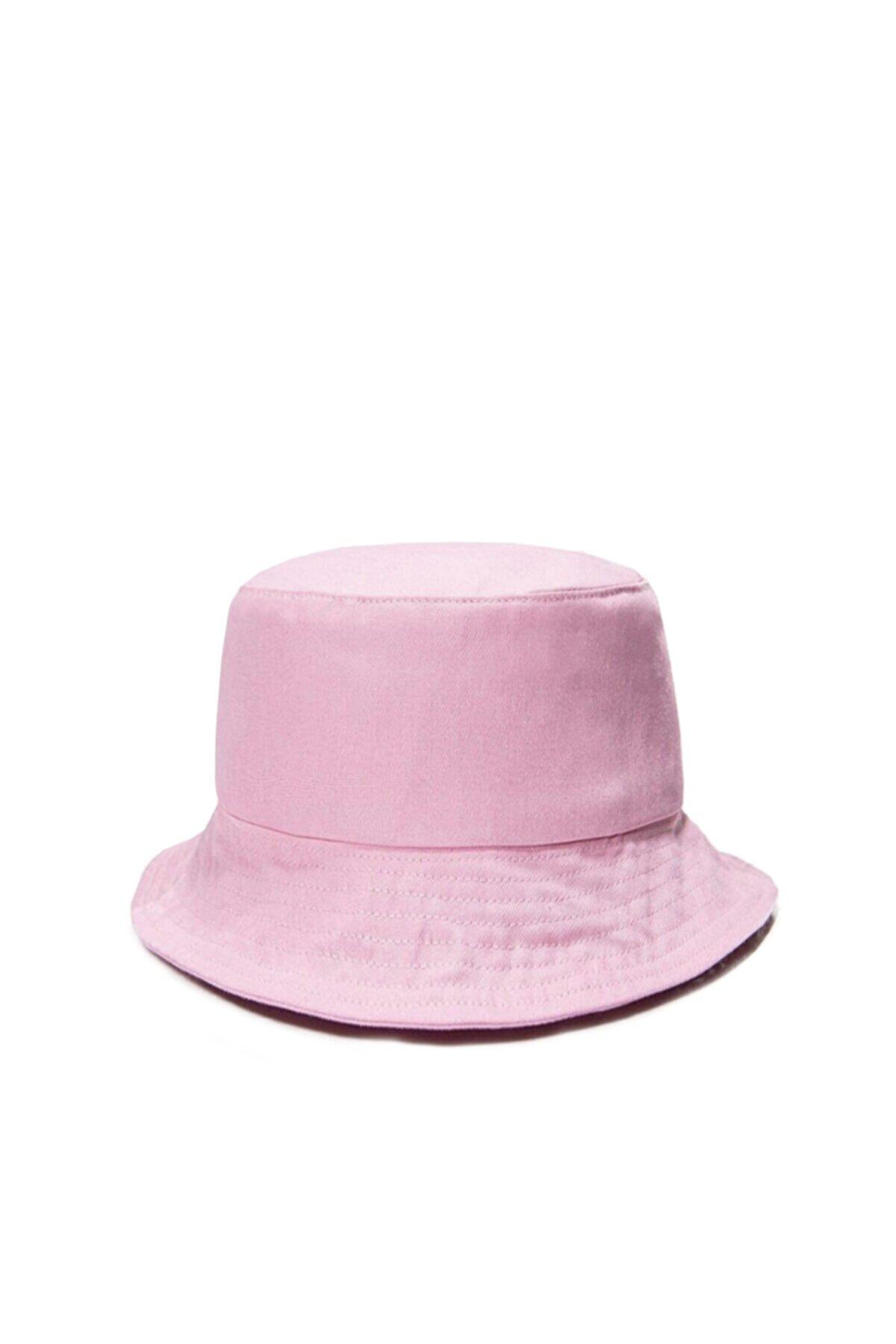 Güce Unisex Pudra Pembe Balıkçı Bucket Şapka Gc013921