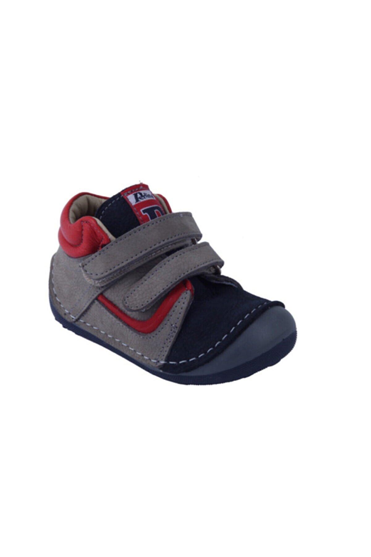 Perlina 00100 Deri Ortopedik Destekli Ilk Adım Ayakkabısı 19-21