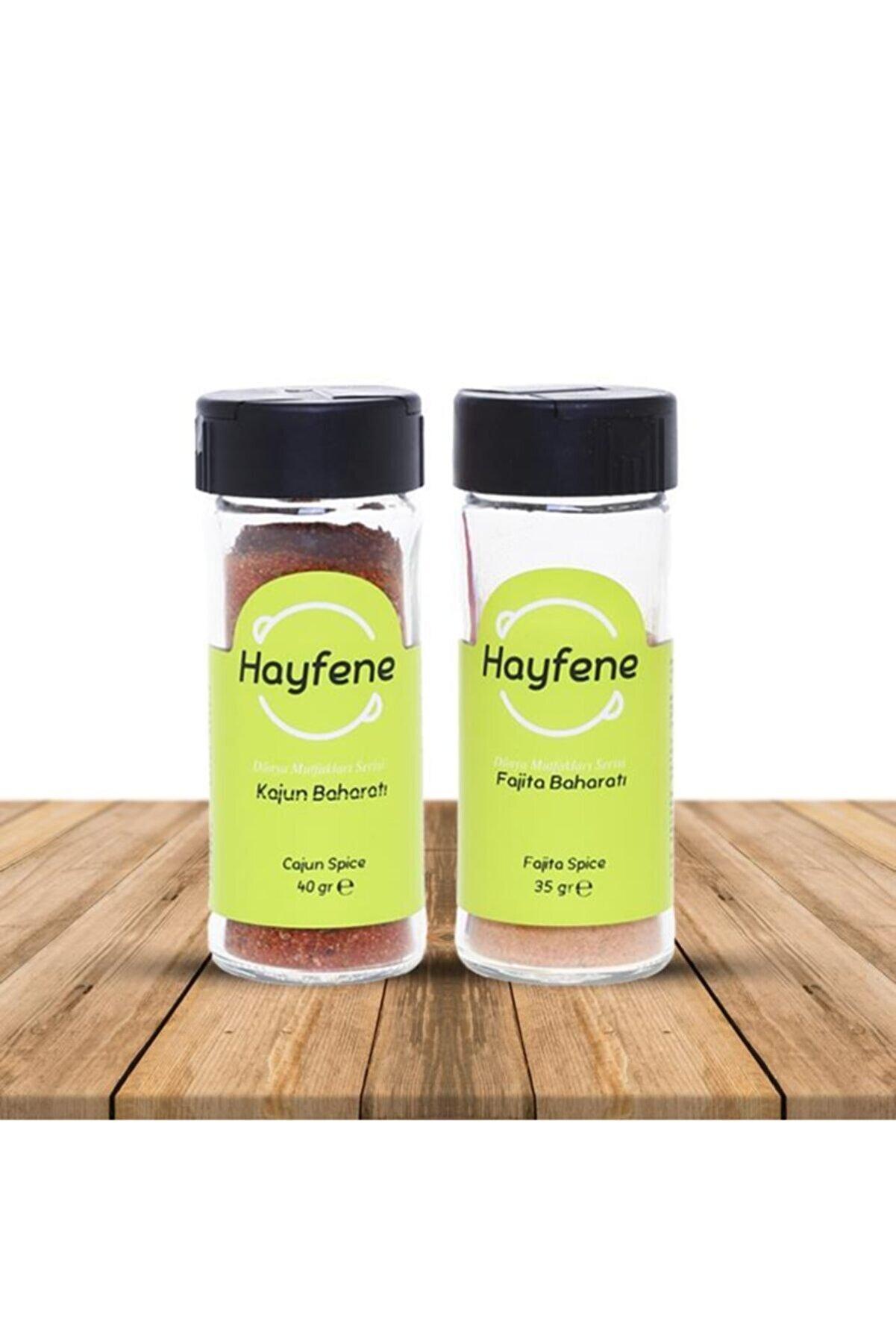 Hayfene Kajun 40 Gr & Fajita 35 Gr Baharat Seti