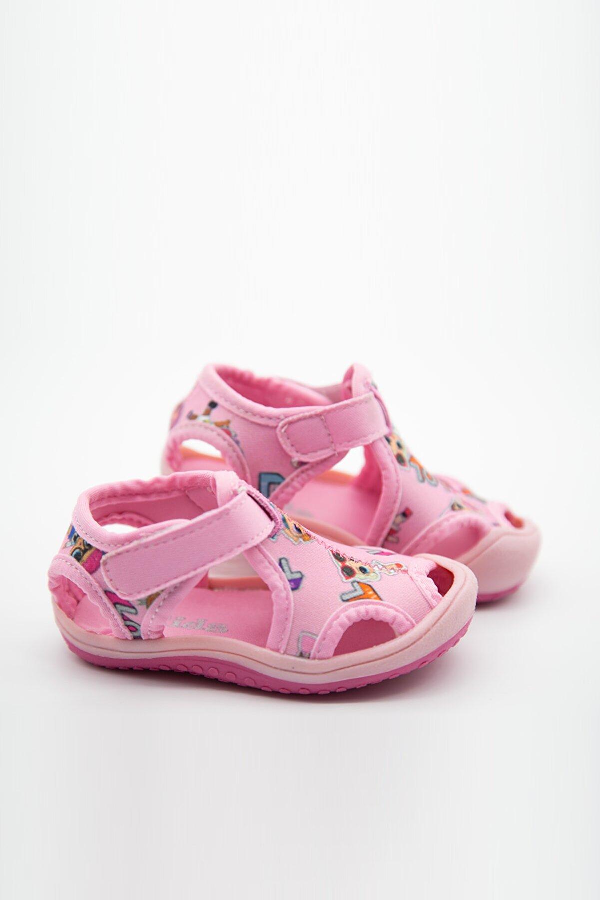 modawars Kız Çocuk Kumaş Sandalet