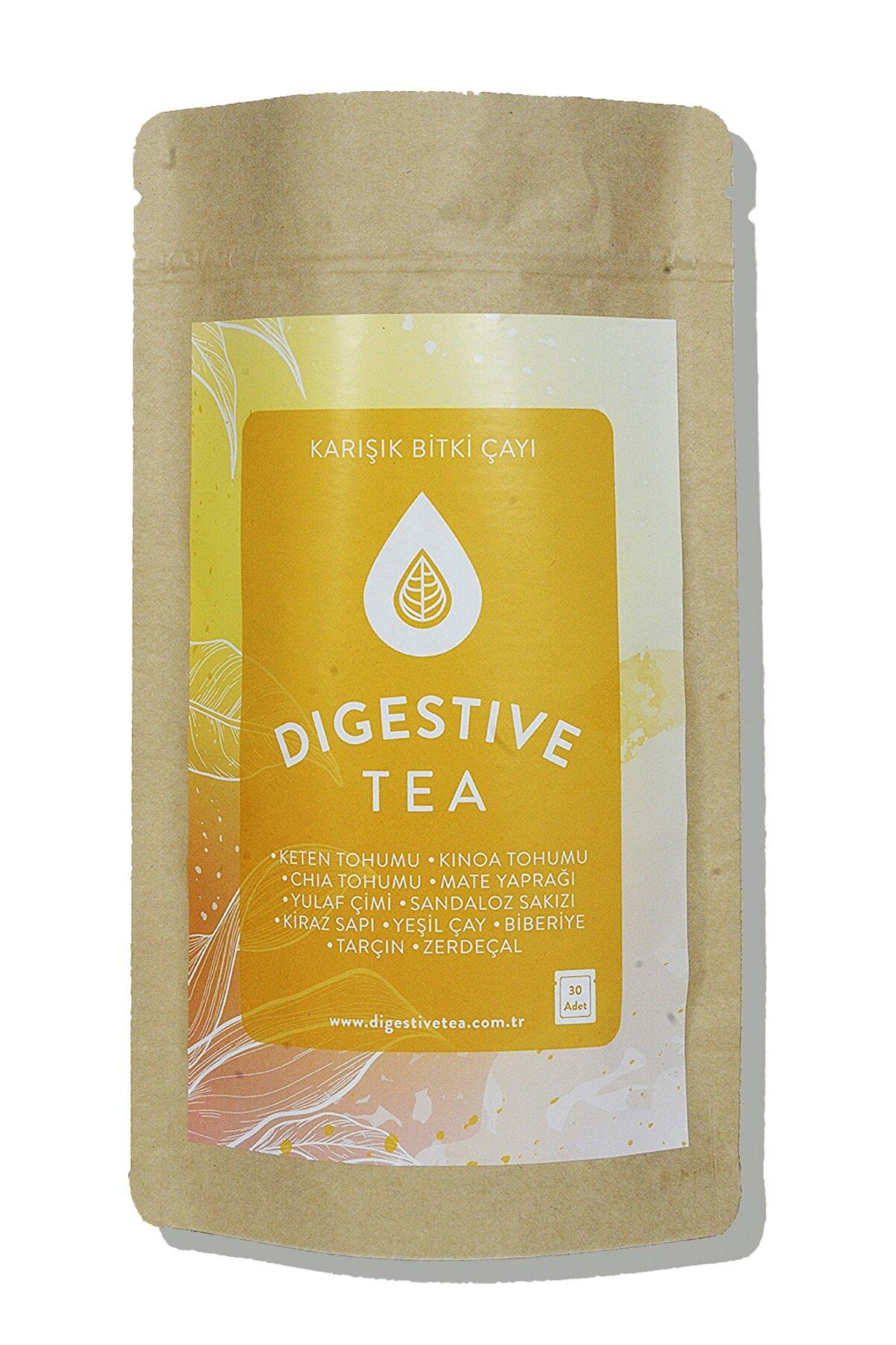 Digestive Tea Diyet Ve Ödem Atımına Yardımcı, Zayıflama Ve Detoks Çayı