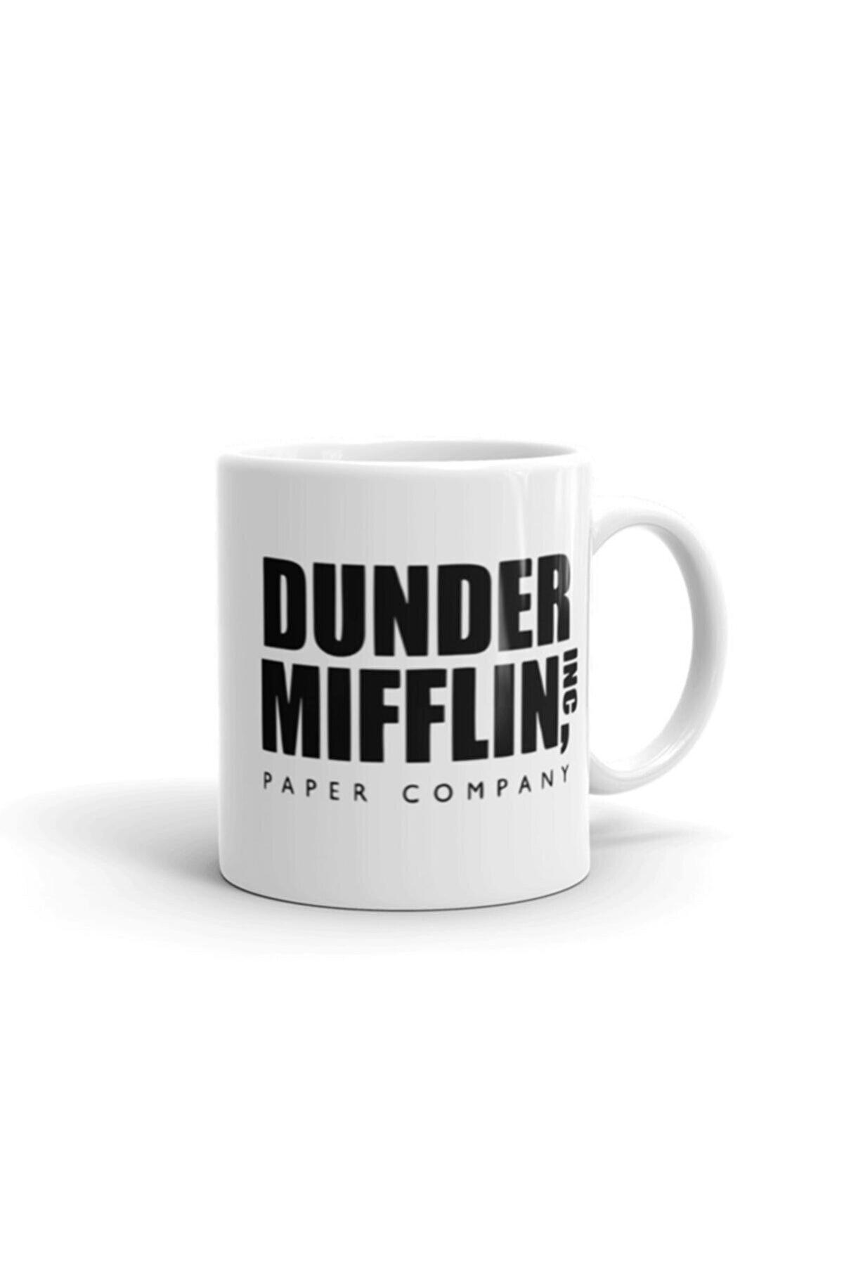 Bi Tıkla Gelsin Dunder Mifflin, World's Best Boss, The Office Tv Show Kupa Bardak