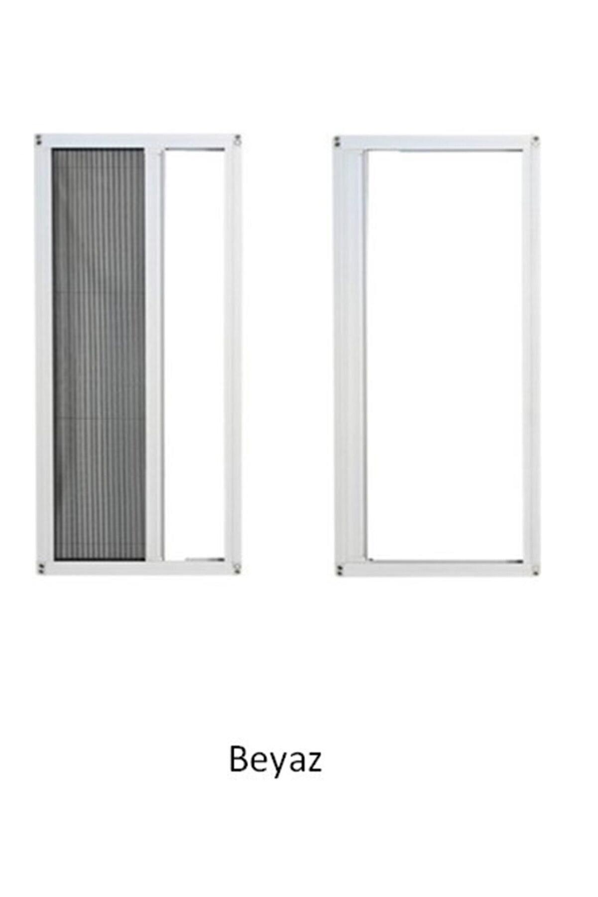 ÇAĞLAYAN İNŞAAT Pileli Plise Sürgülü Akordiyon Katlanır Pencere Sinekliği