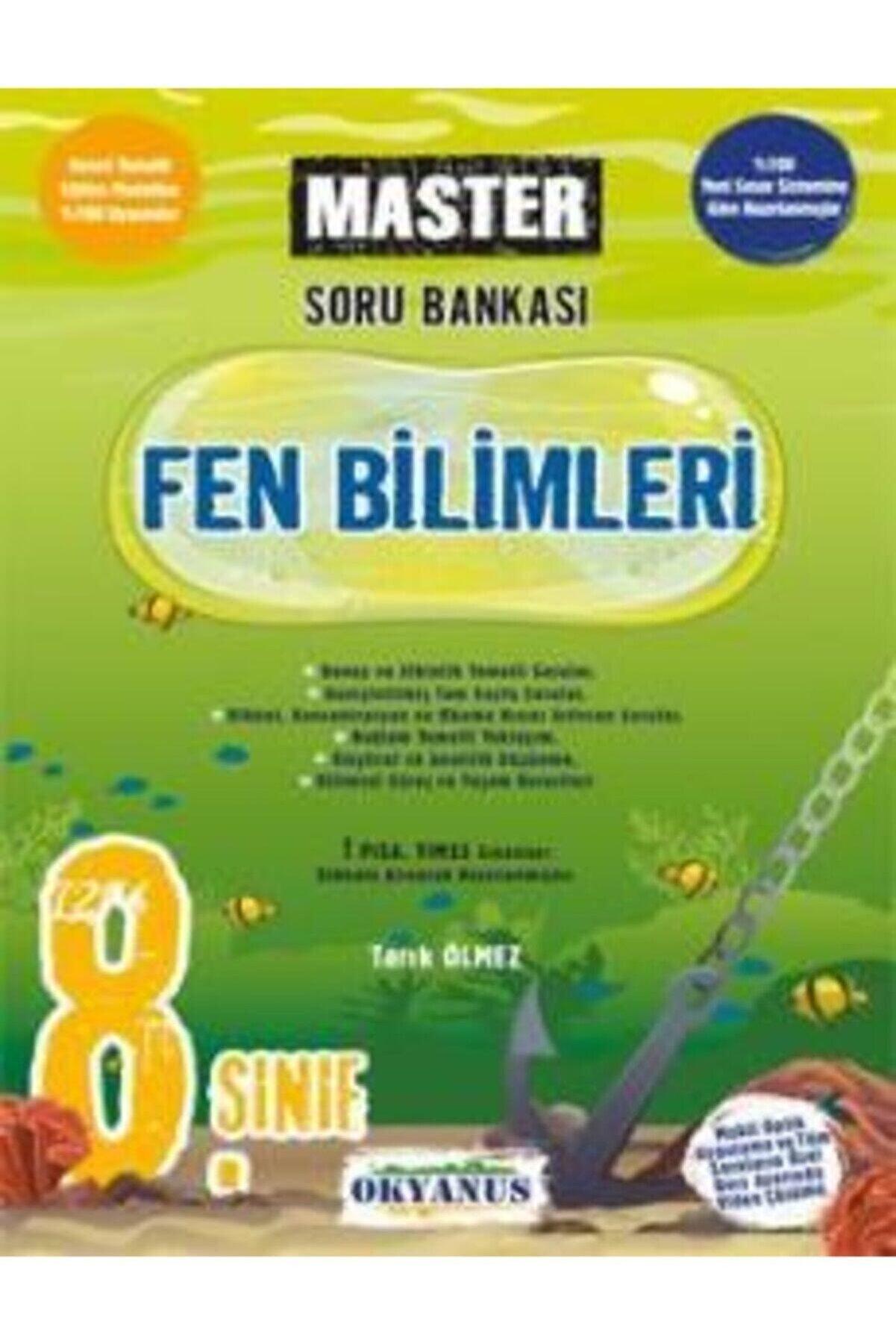 Okyanus Yayınları 8. Sınıf Master Fen Bilimleri Soru Bankası