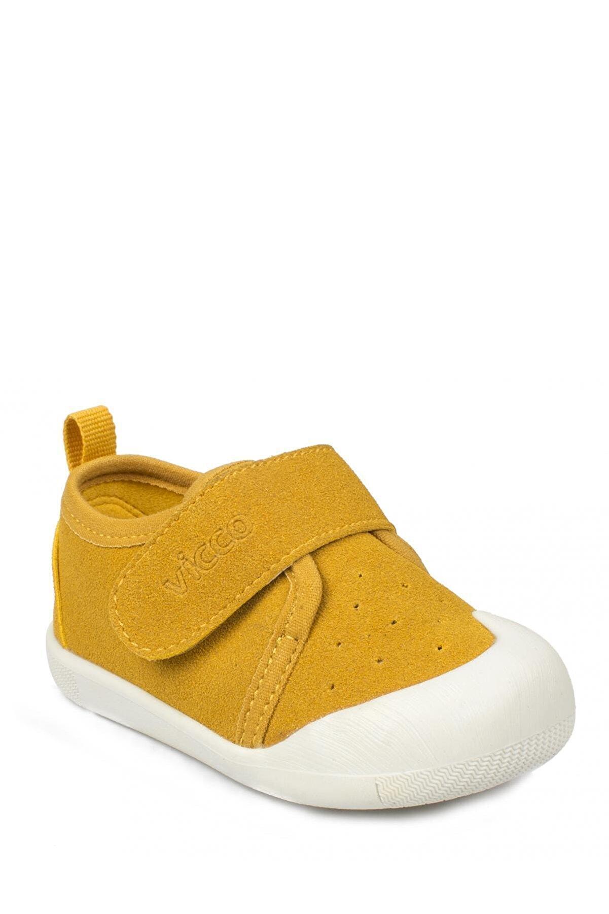 Vicco Unisex Bebek Sarı Ayakkabı