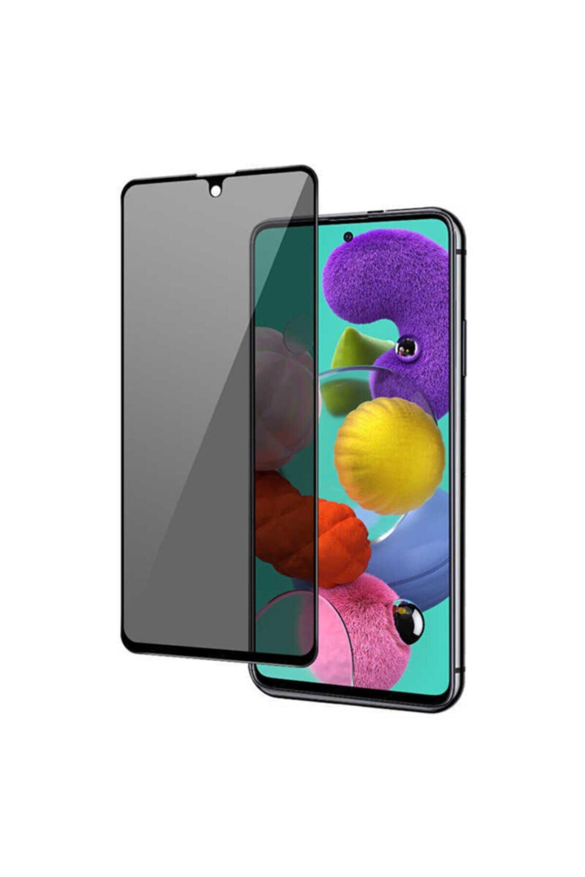 Samsung Galaxy Note 10 Lite 5d Uyumlu Privacy Hayalet Temperli Cam Ekran Koruyucu