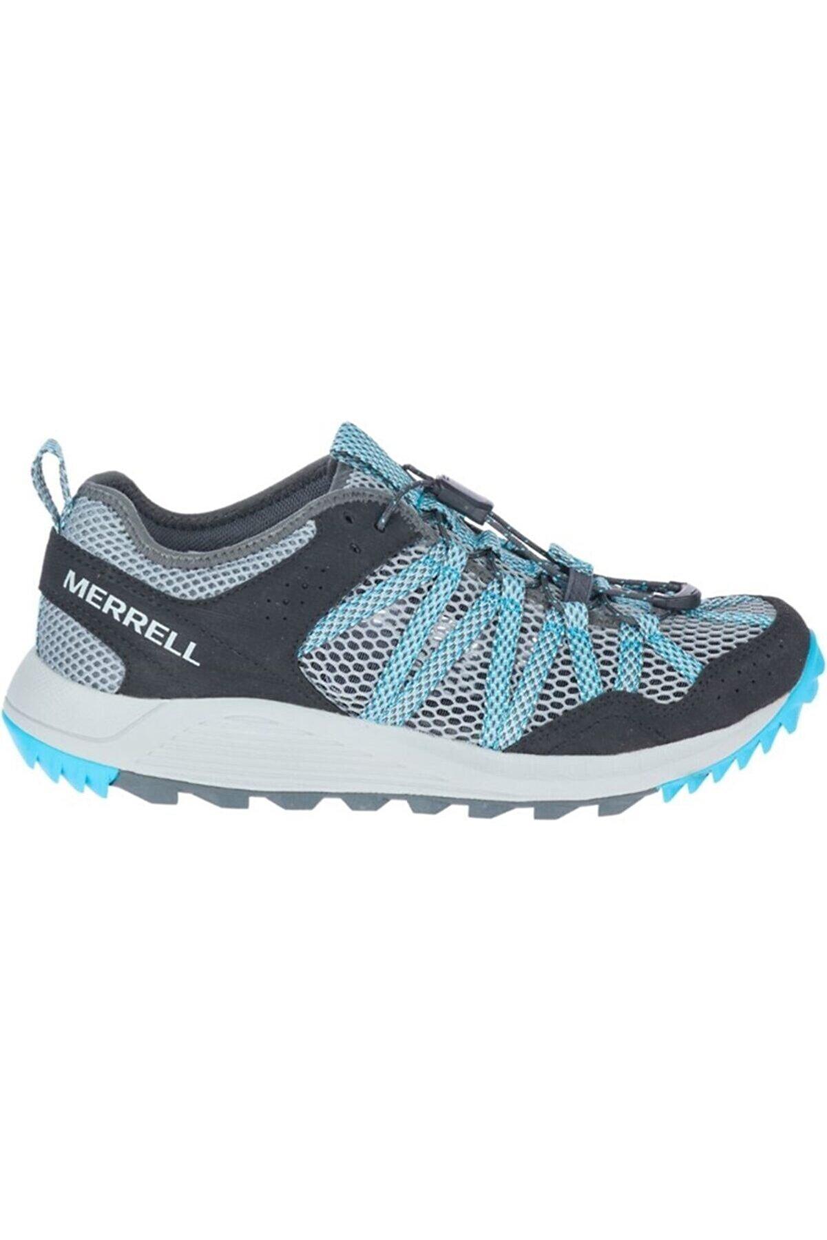 Merrell Kadın Gri Bağcıklı  Spor Ayakkabı