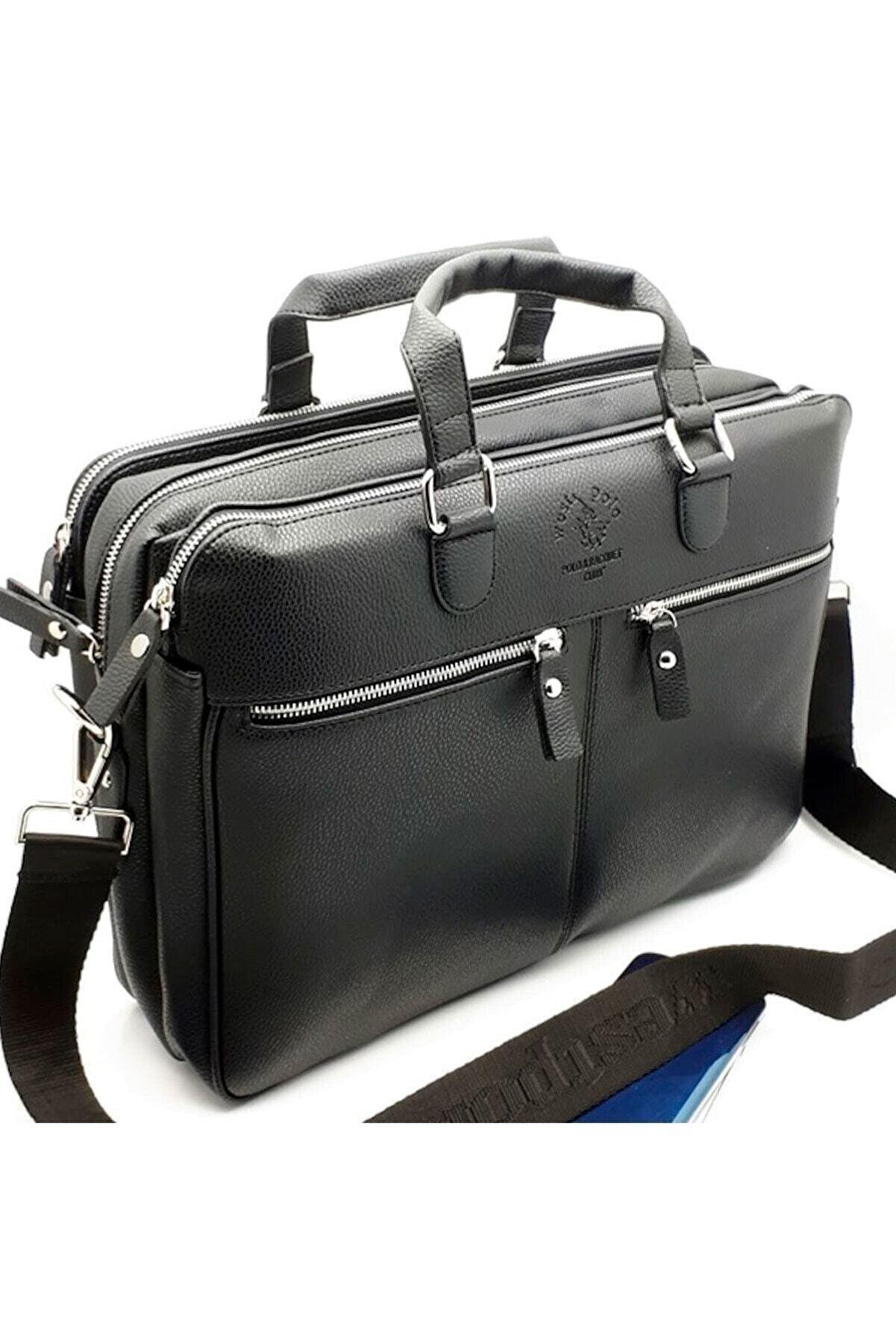 Westpolo Siyah Erkek Laptop & Evrak Çantası Try6004