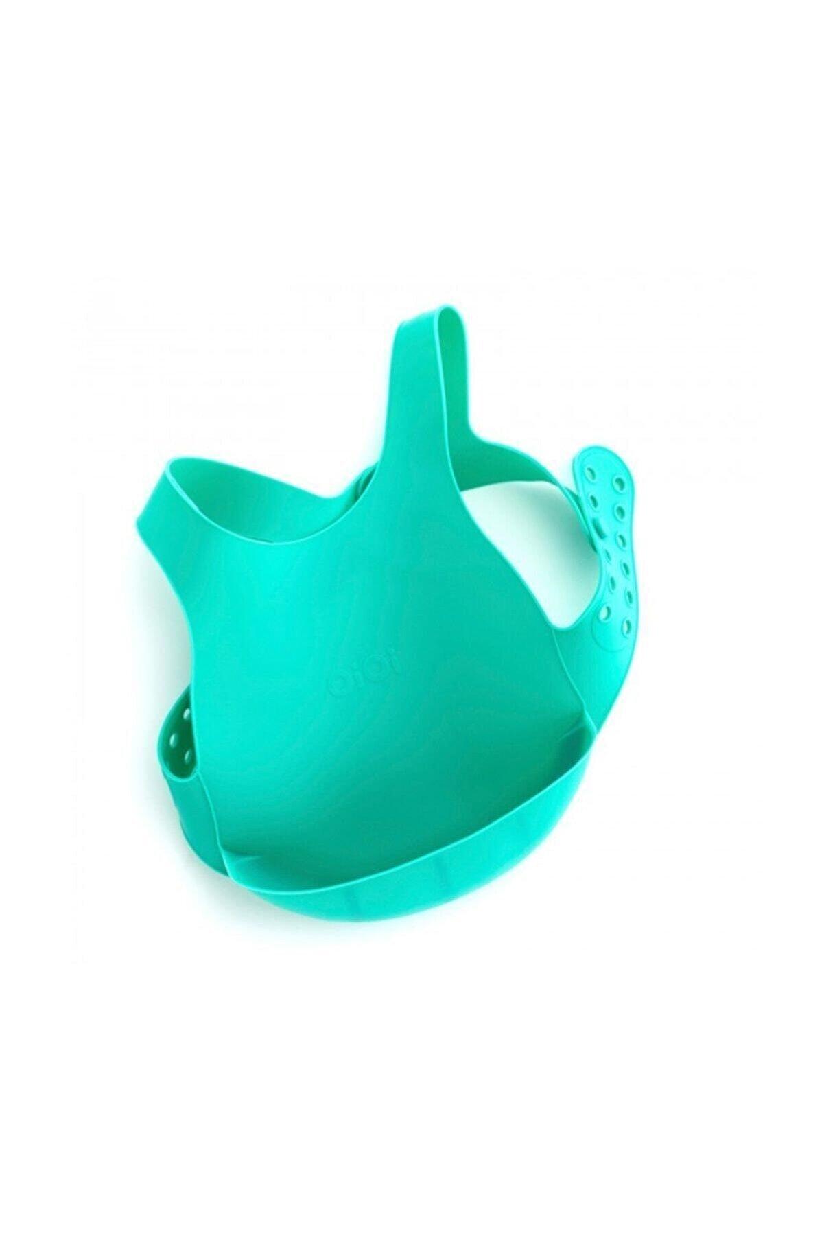 Oioi Silikon Mama Önlüğü (Yeşil)