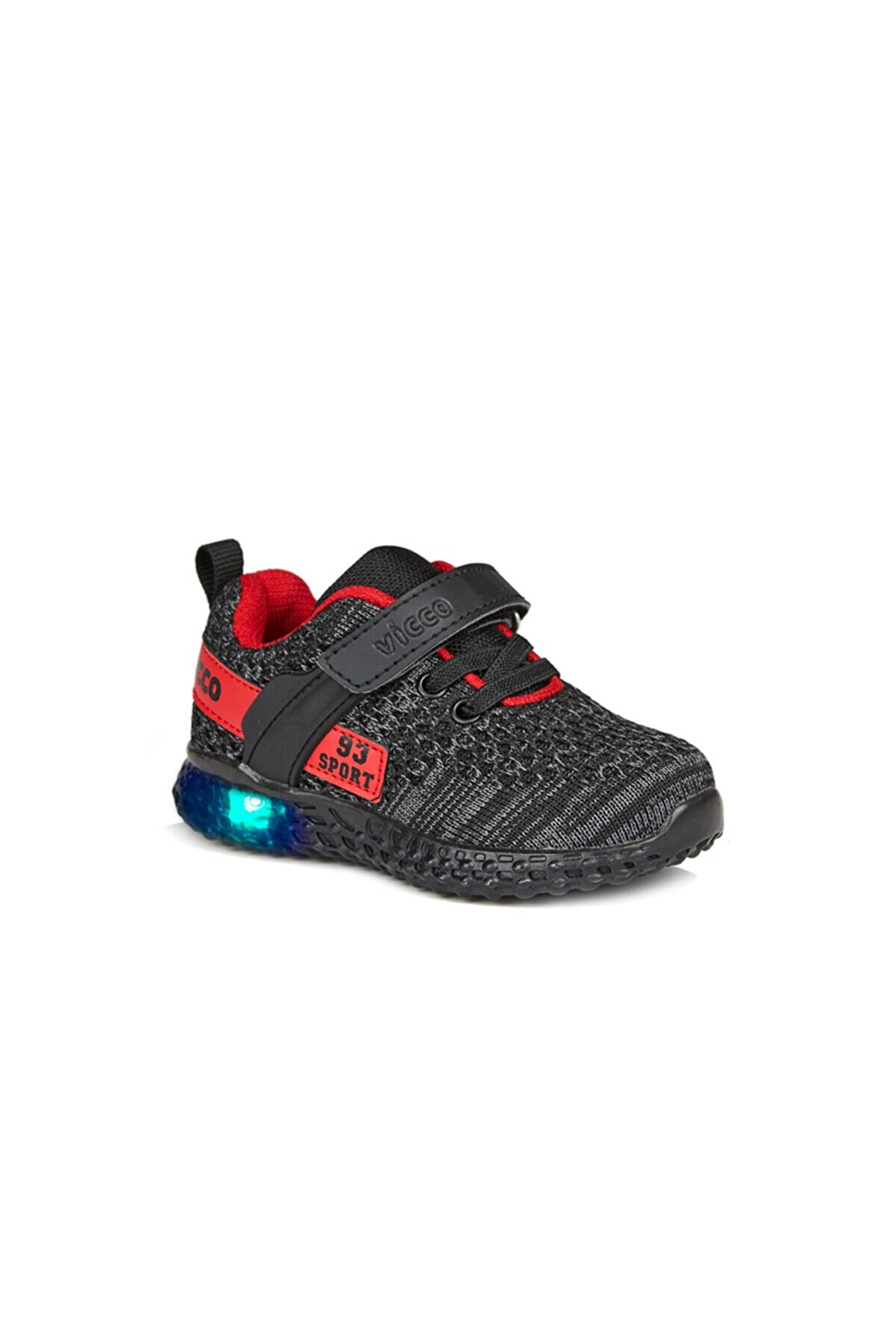Vicco Alfa Unisex Bebe Siyah Spor Ayakkabı