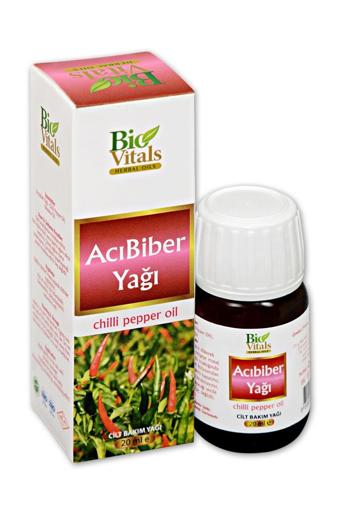 Bio Vitals Acı Biber Yağı 20 ml