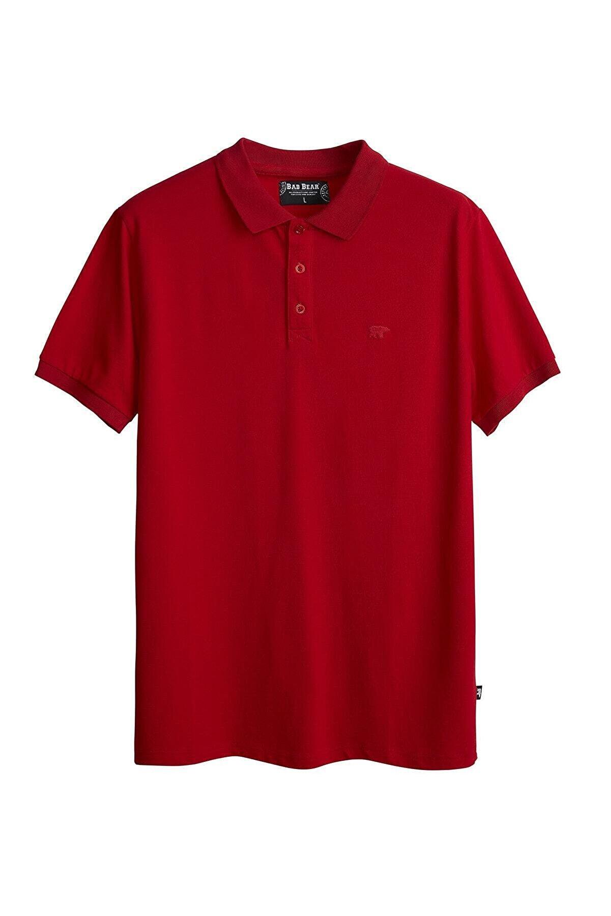Bad Bear Erkek Kırmızı Stark Polo Tşört
