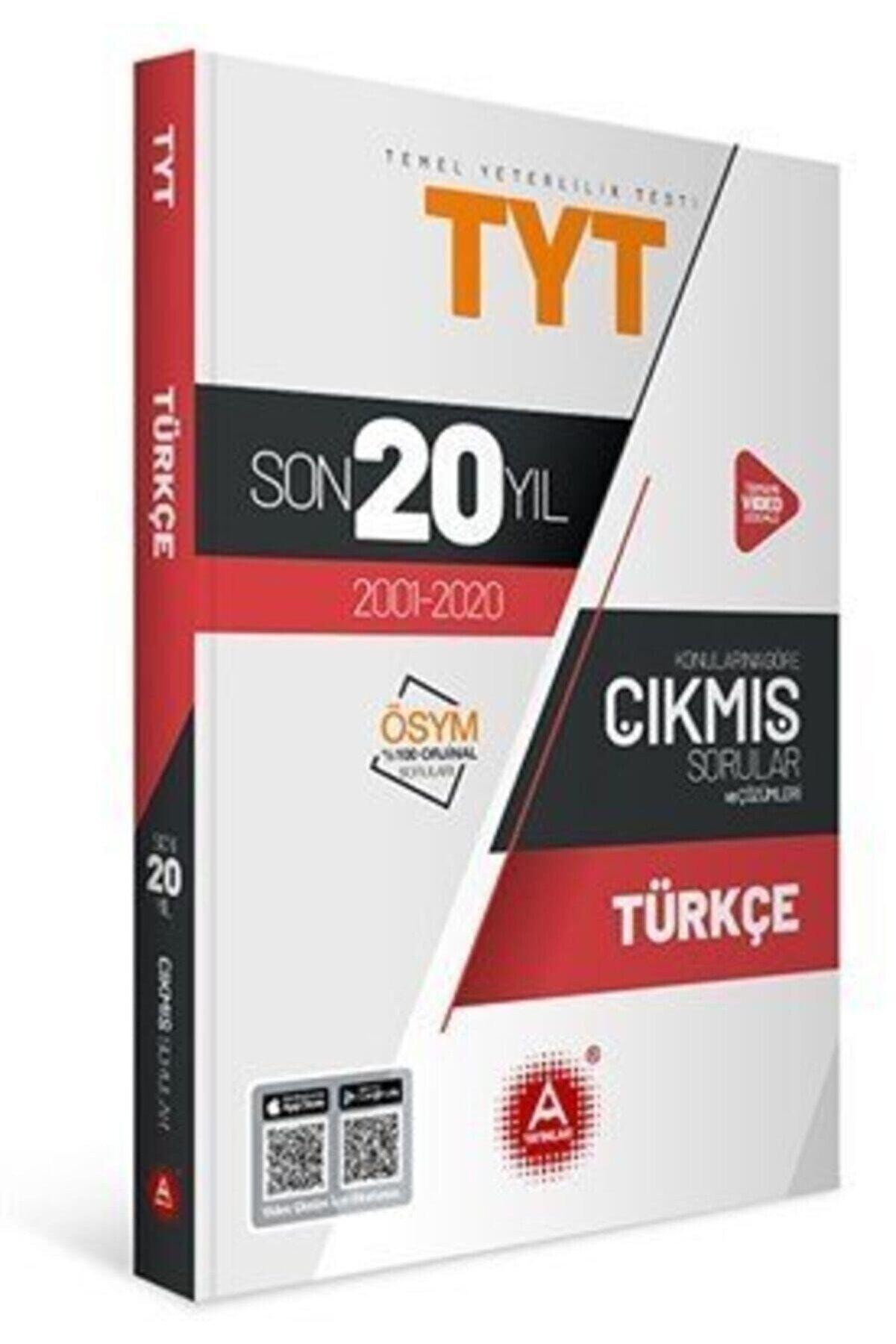 A Yayınları A Tyt Türkçe Son 20 Yıl Konularına Göre Çıkmış Sorular