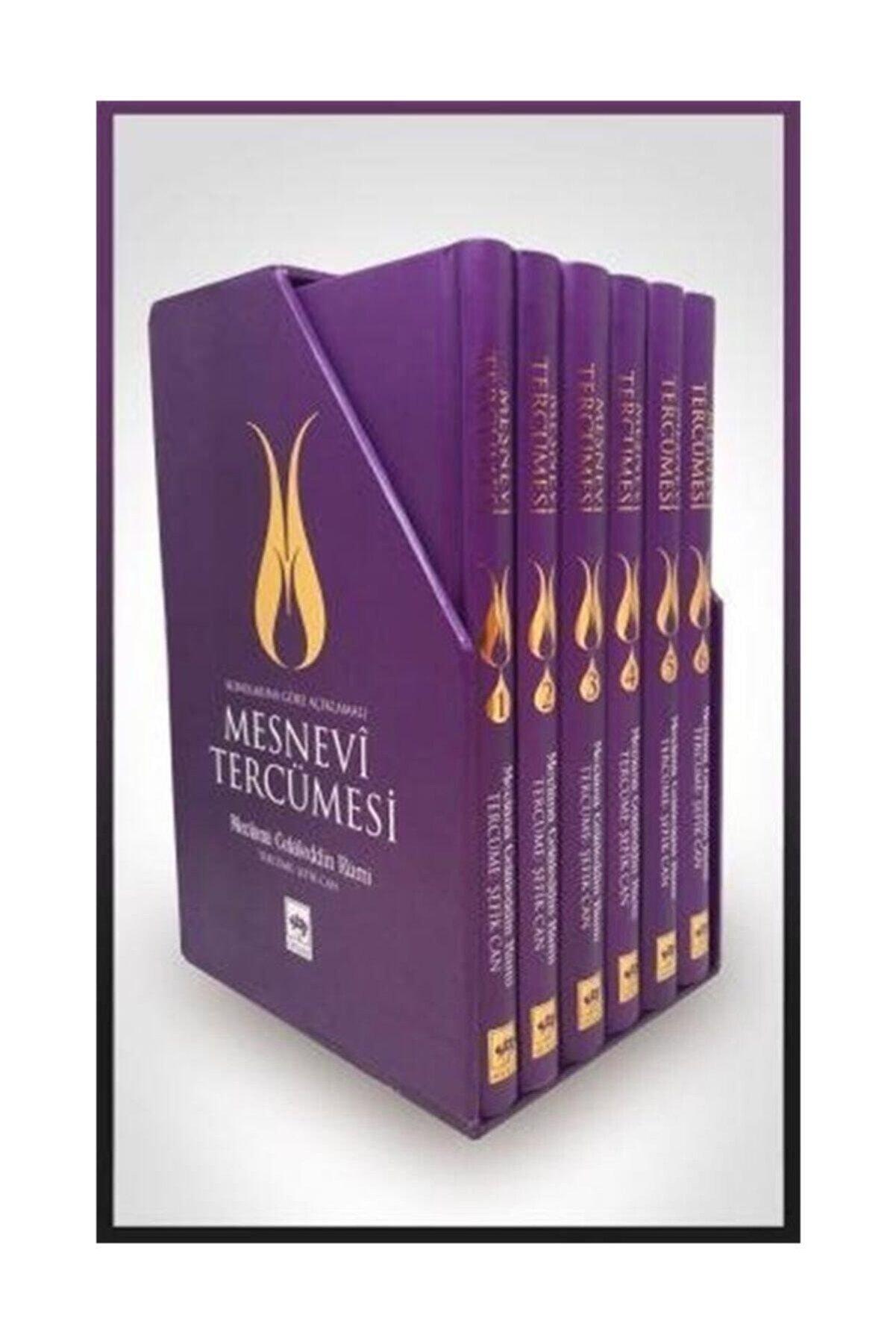 Ötüken Yayınları Mesnevi Tercümesi 6 Cilt Takım