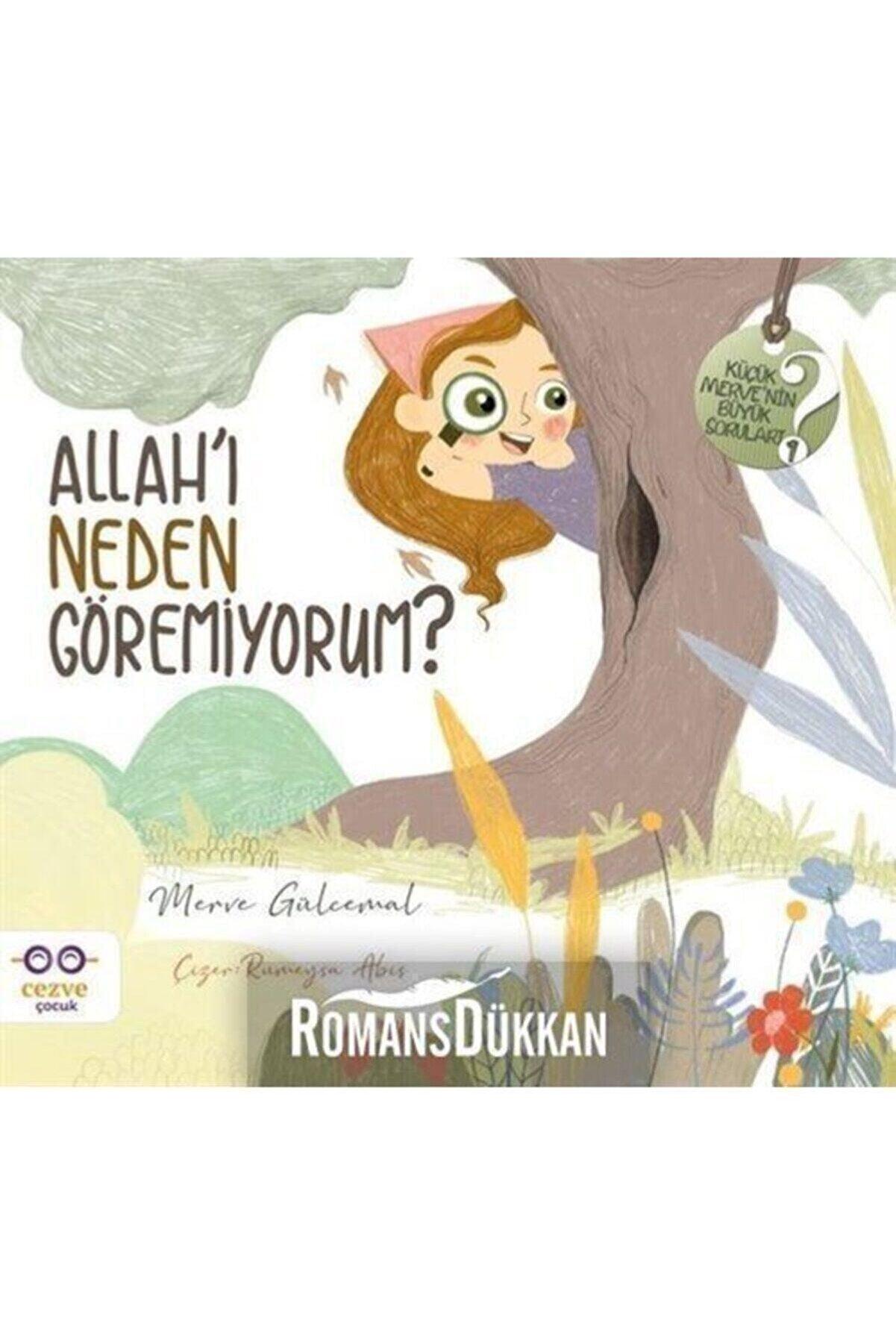 Cezve Çocuk Allah'ı Neden Göremiyorum? - Küçük Merve'nin Büyük Soruları 1 - Merve Gülcemal 9786052297797