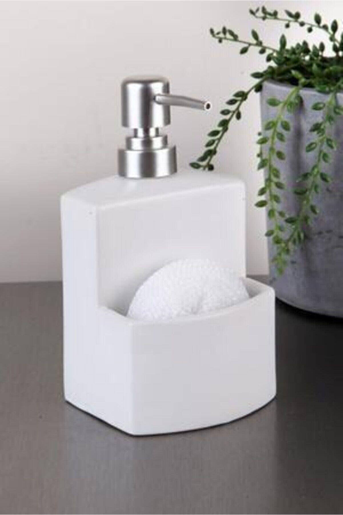 GÖNÜL Süngerlikli Sıvı Sabunluk Deterjanlık G2650-2
