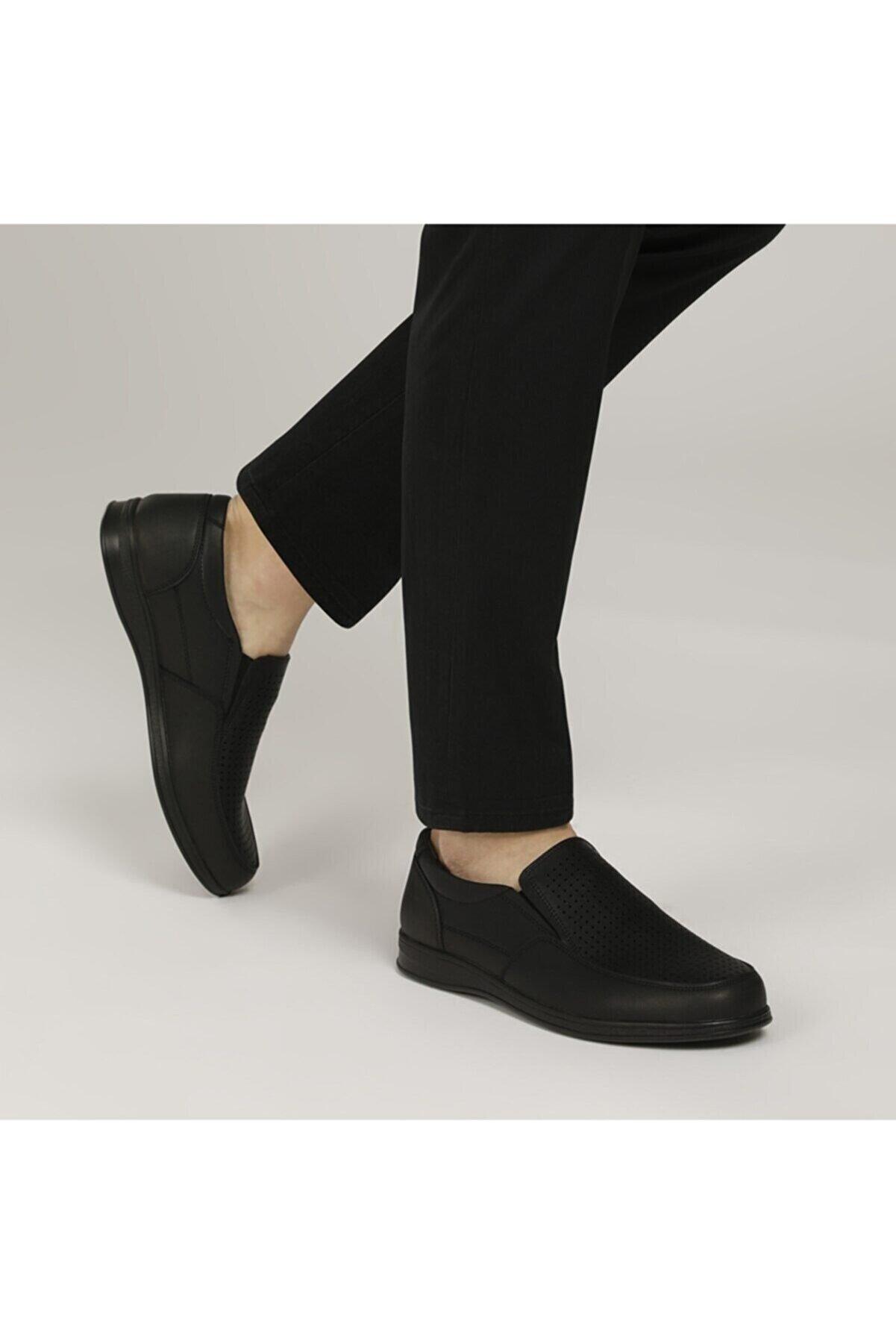 Polaris 160002.M Siyah Erkek Comfort Ayakkabı 100500845