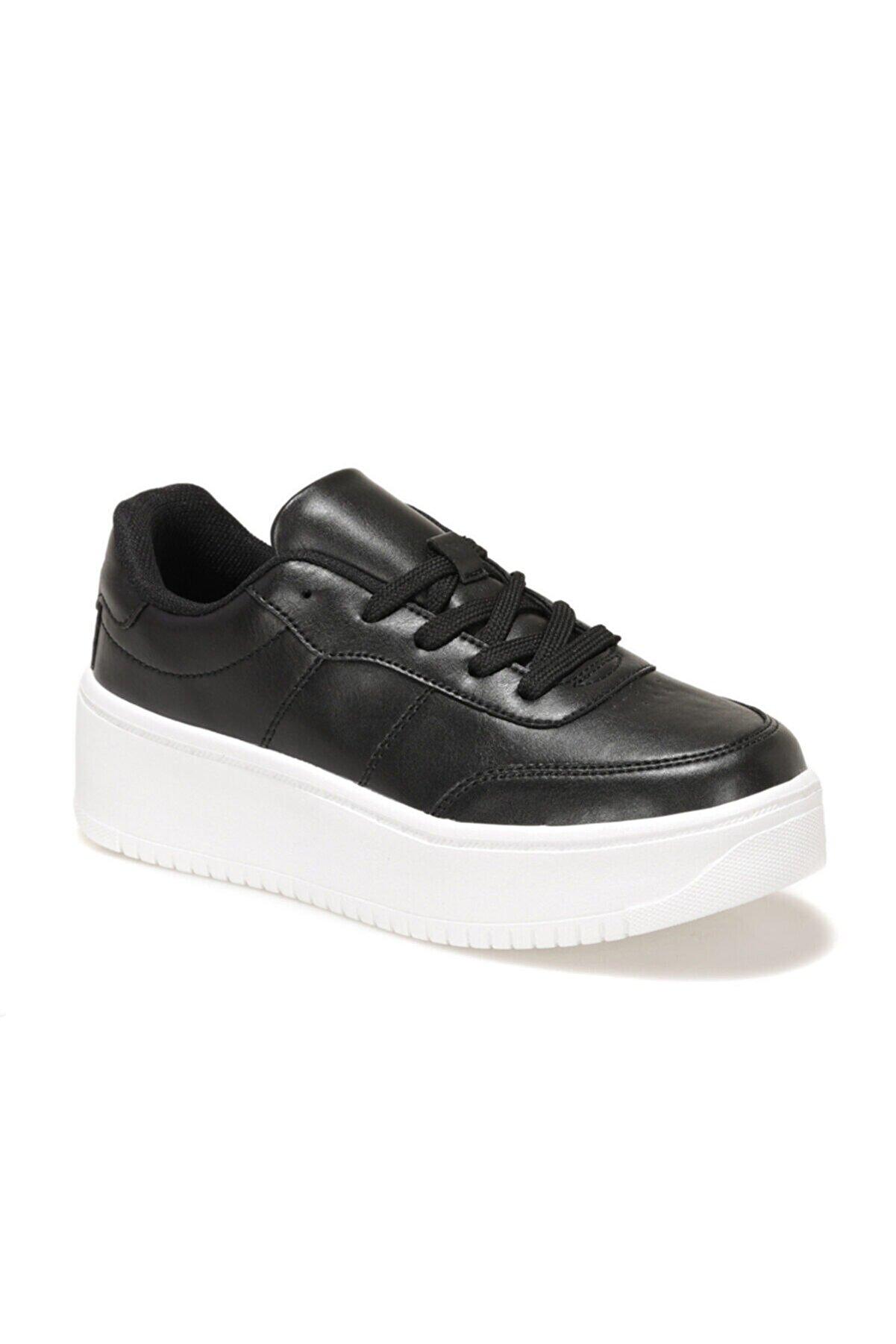 Kinetix LIZA 1FX Siyah Kadın Havuz Taban Sneaker 100586946