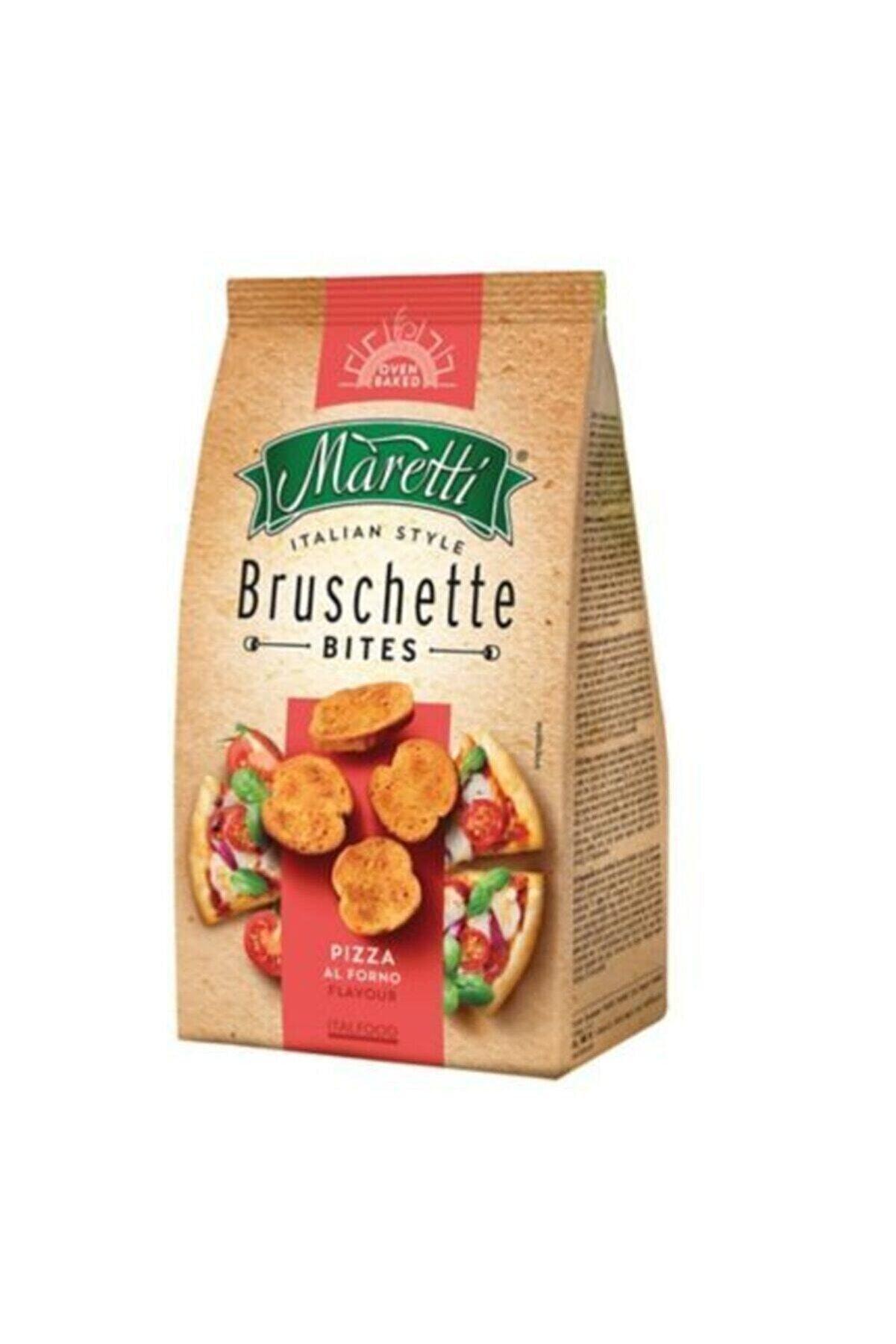 Maretti Bruschette Chips Pizza Kızarmış Ekmek 70 Gr