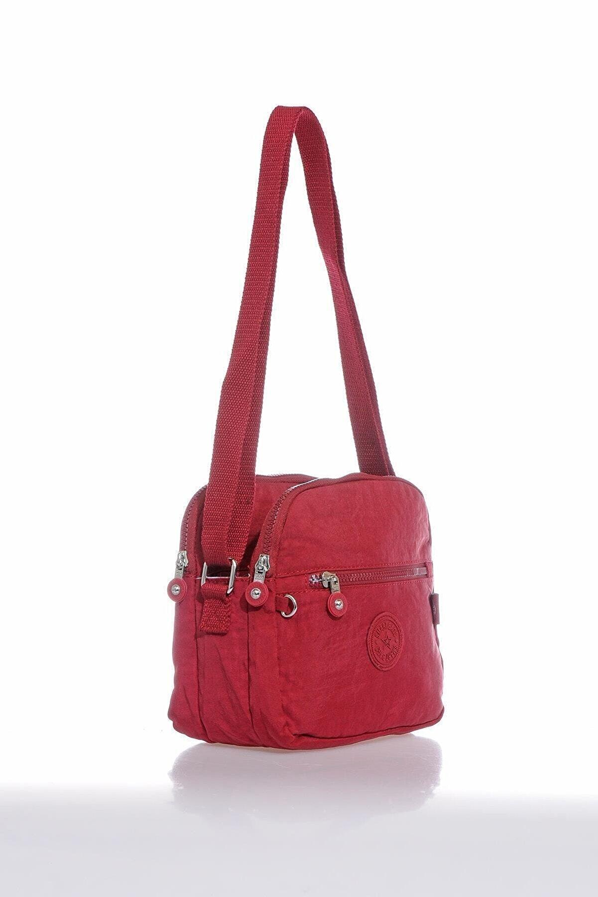 Smart Bags Smb3058-0021 Bordo Kadın Çapraz Çanta
