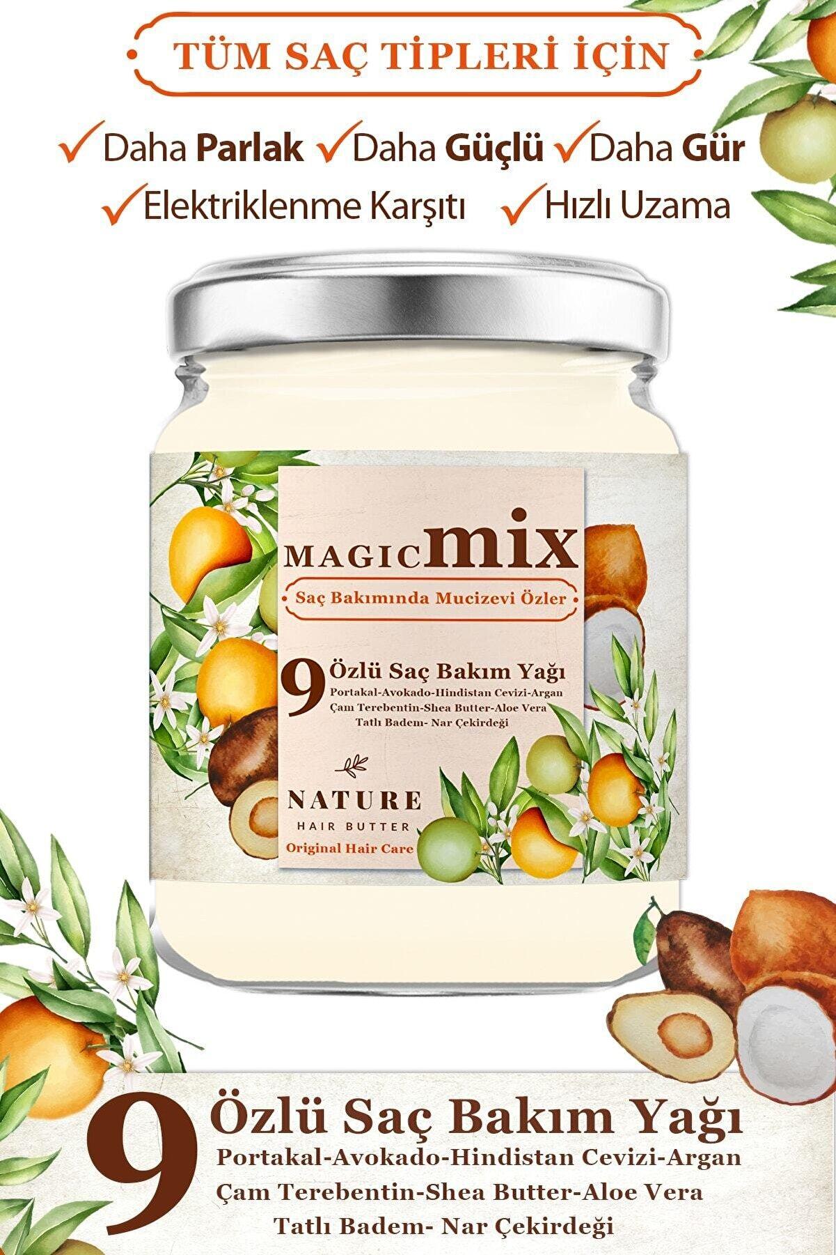 Magic Mix 9 Özlü Saç Güçlendirici ve Besleyici 190 ml