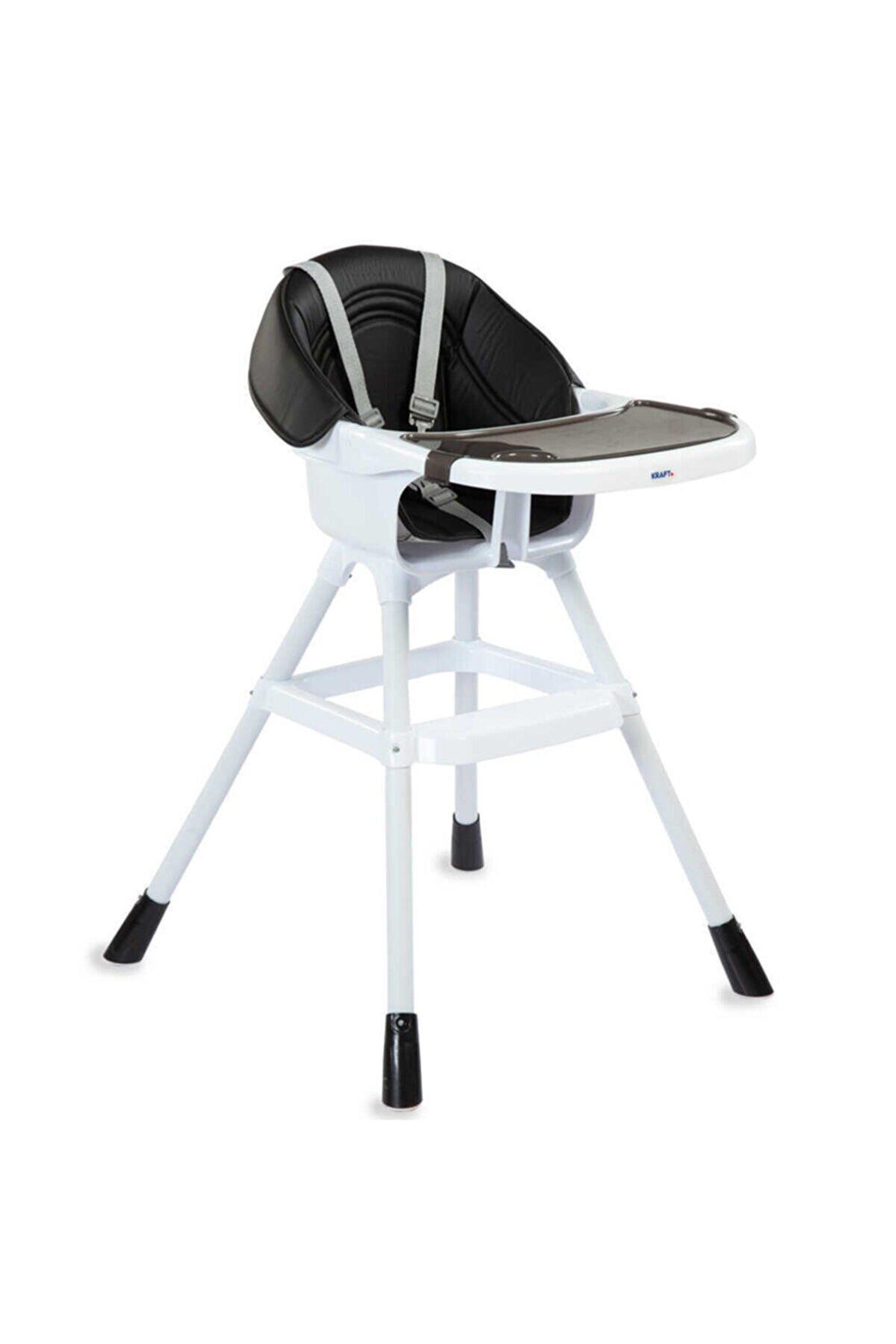 Kraft Tapas Mama Sandalyesi Siyah