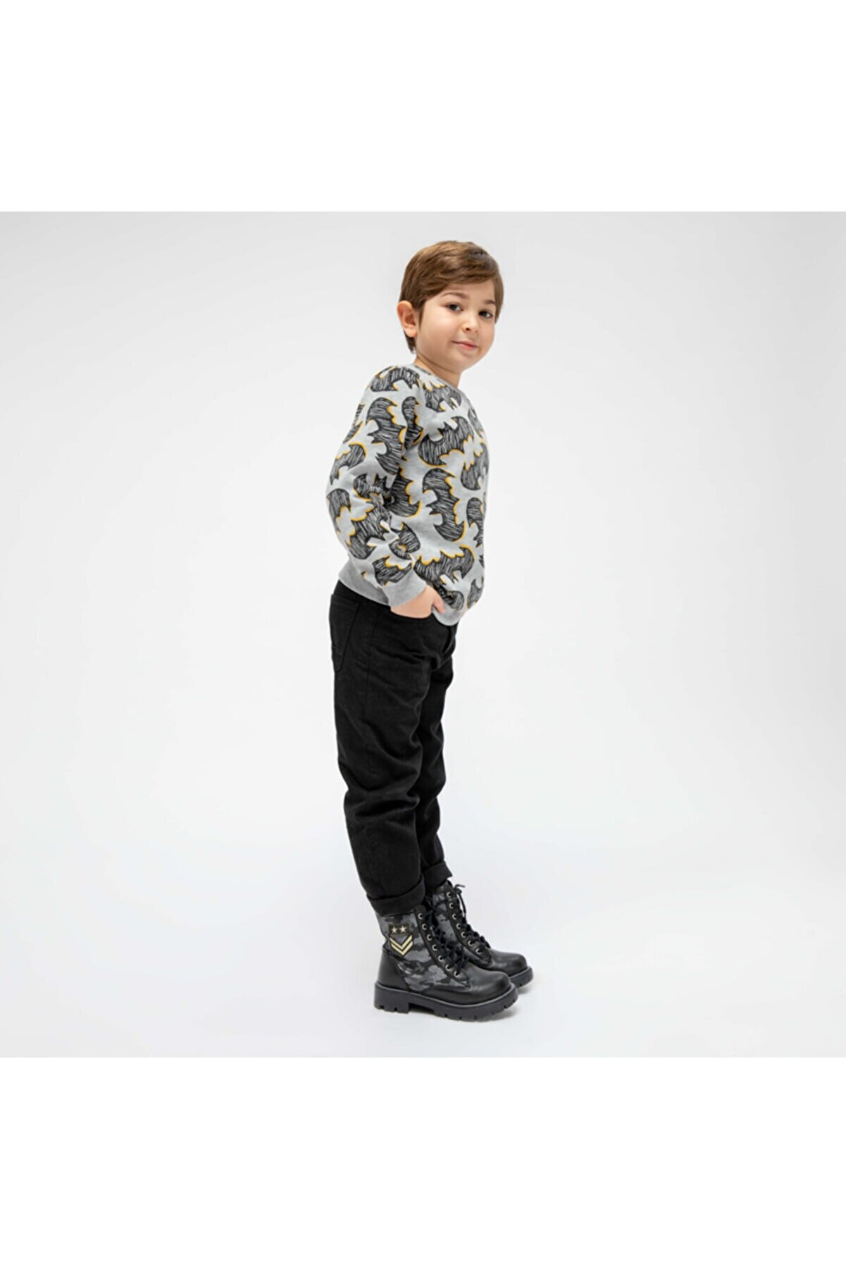Polaris 82.510550.f Siyah Erkek Çocuk Bot 100331283