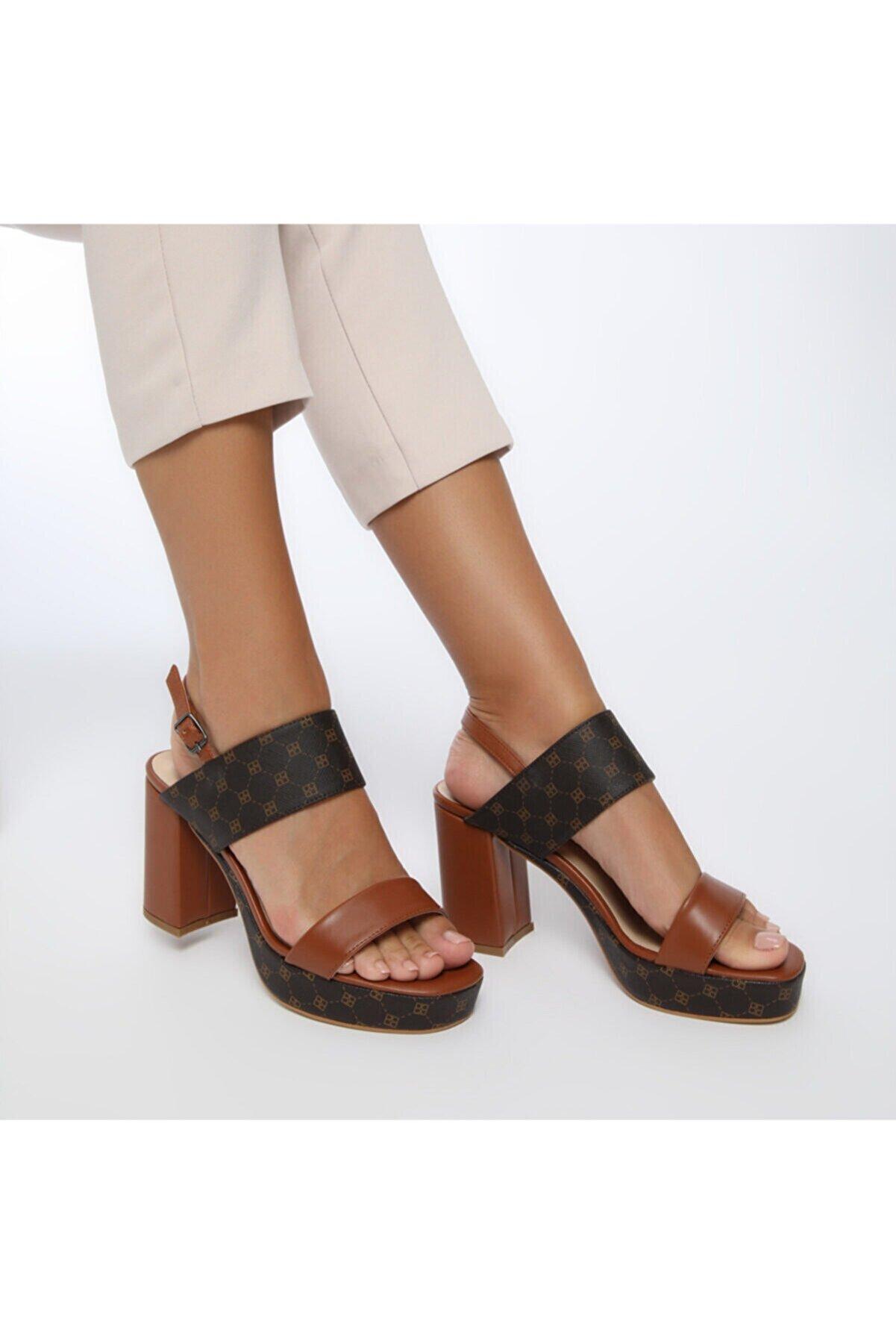 Butigo 20S-360 Taba Kadın Sandalet 100517371
