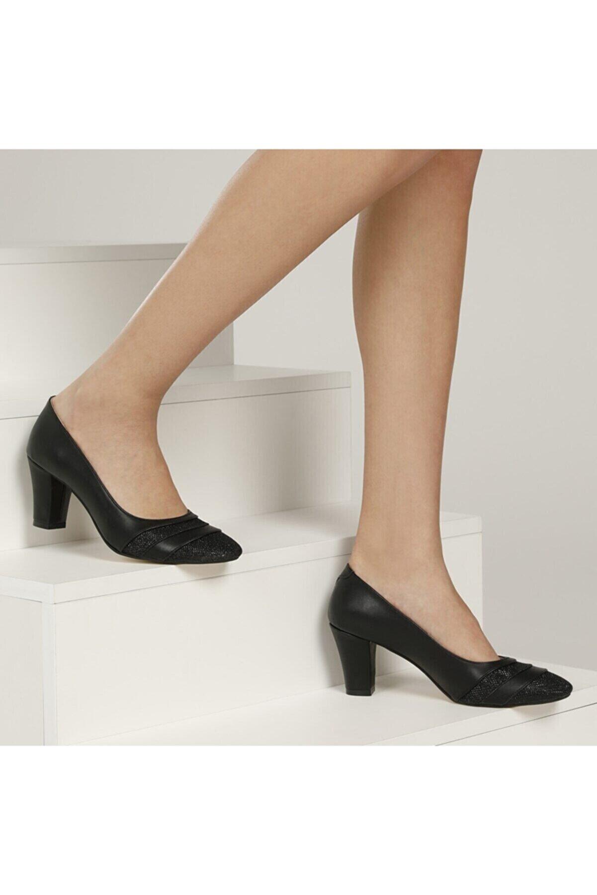Polaris 317080pz 1fx Siyah Kadın Gova Ayakkabı