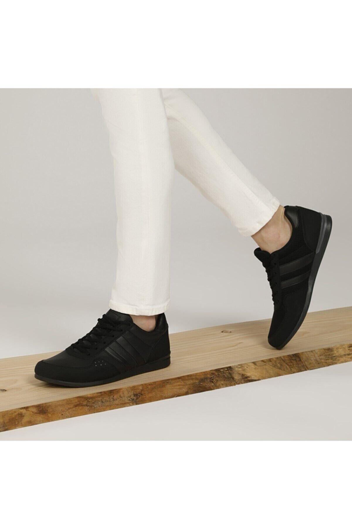 Salvano Ec-3004 Siyah Erkek Sneaker