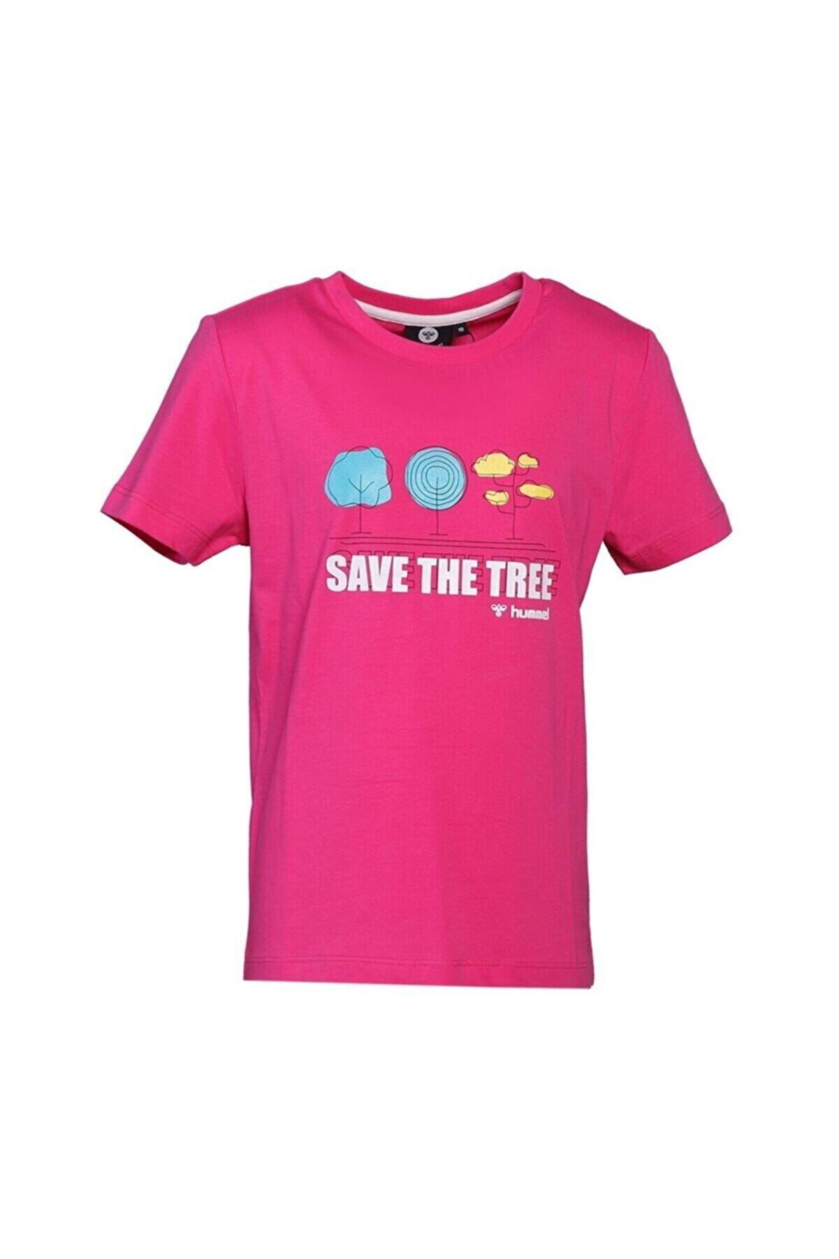 HUMMEL HMLTRAEER Pembe Kız Çocuk T-Shirt 101085874