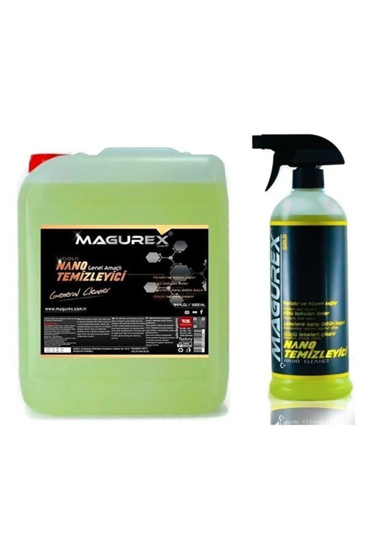 magurex Genel Amaçlı Nano Temizleyici 5 L + 800 Ml