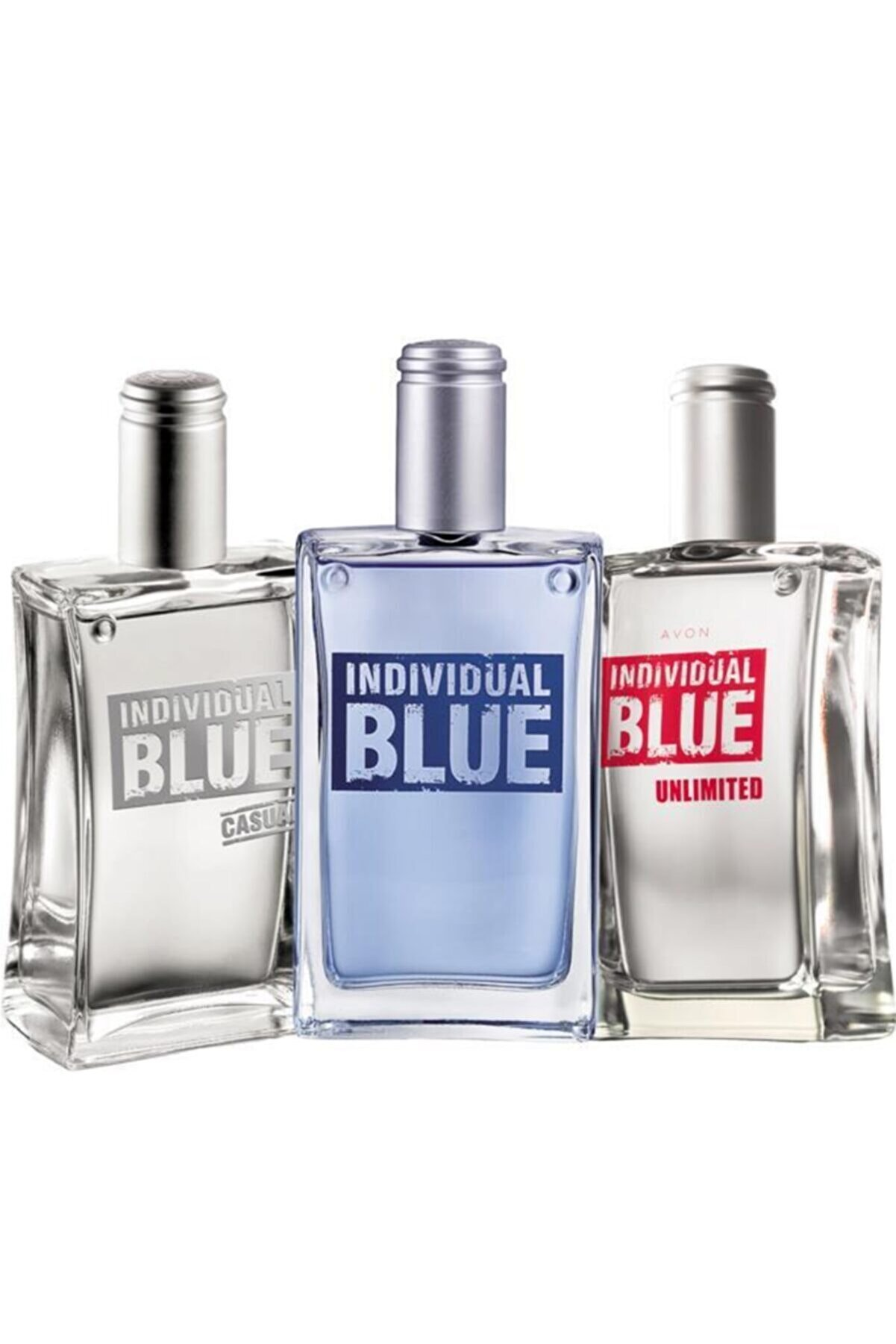 Avon Individual Blue Edt 100 ml Erkek+Individual Blue Unlimited Edt100 ml Erkek Parfüm Set  5050000000550